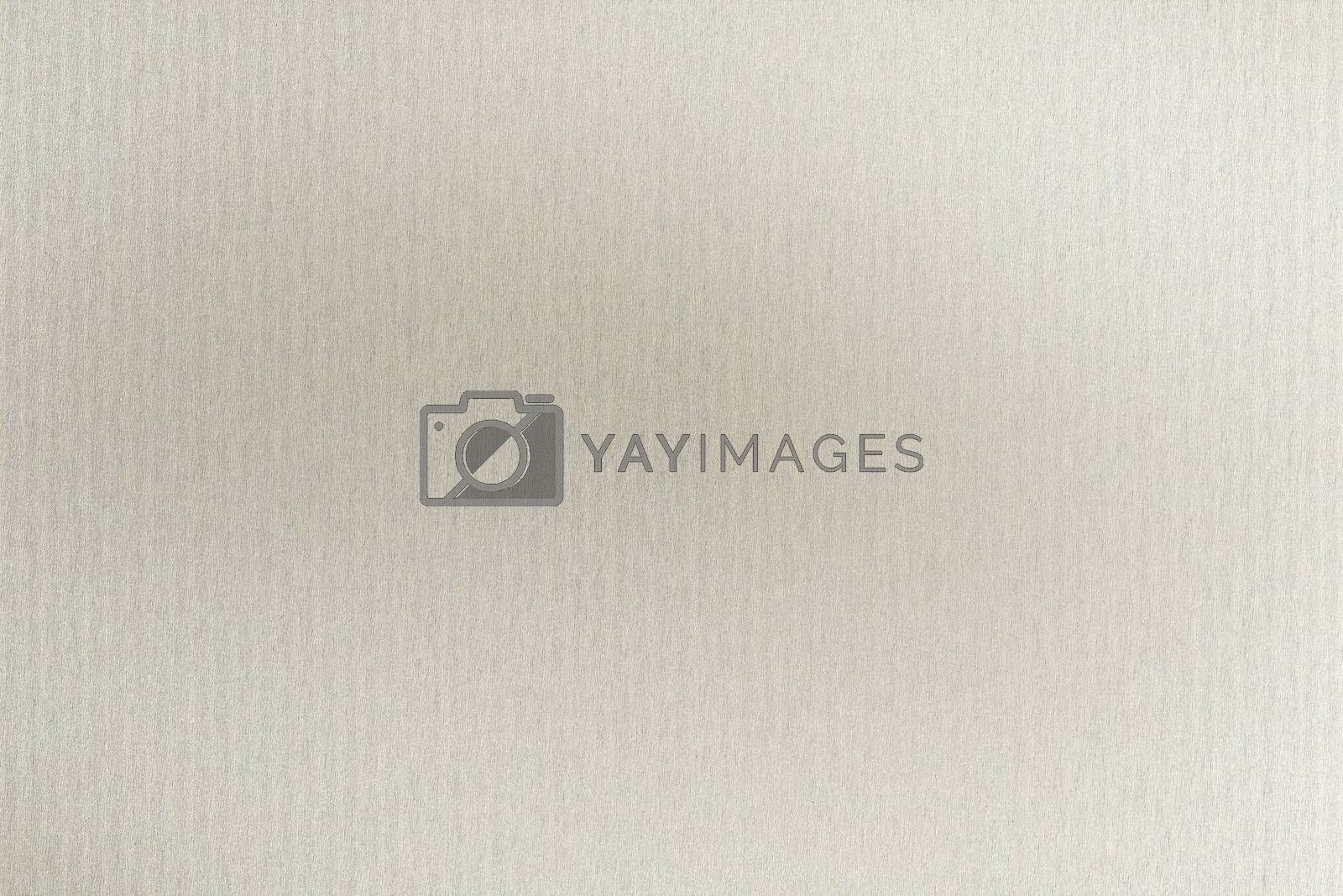 Royalty free image of Brushed white metallic sheet, abstract texture background by mouu007