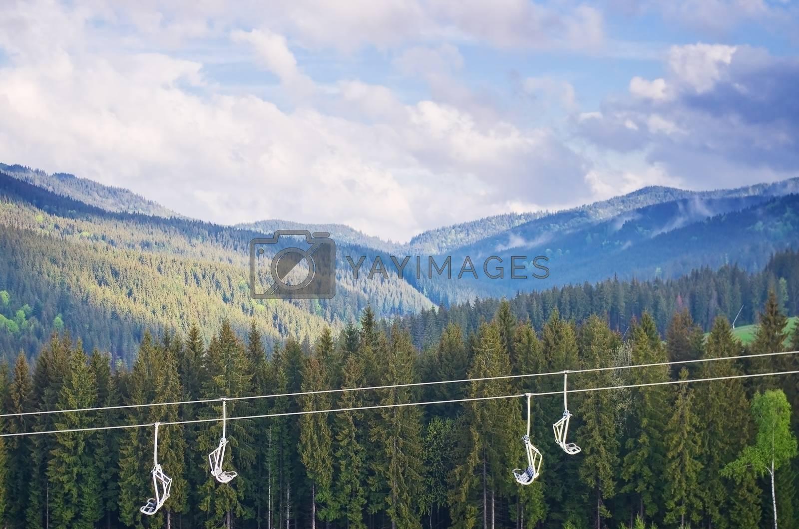 Carpathian Mountains by vrvalerian