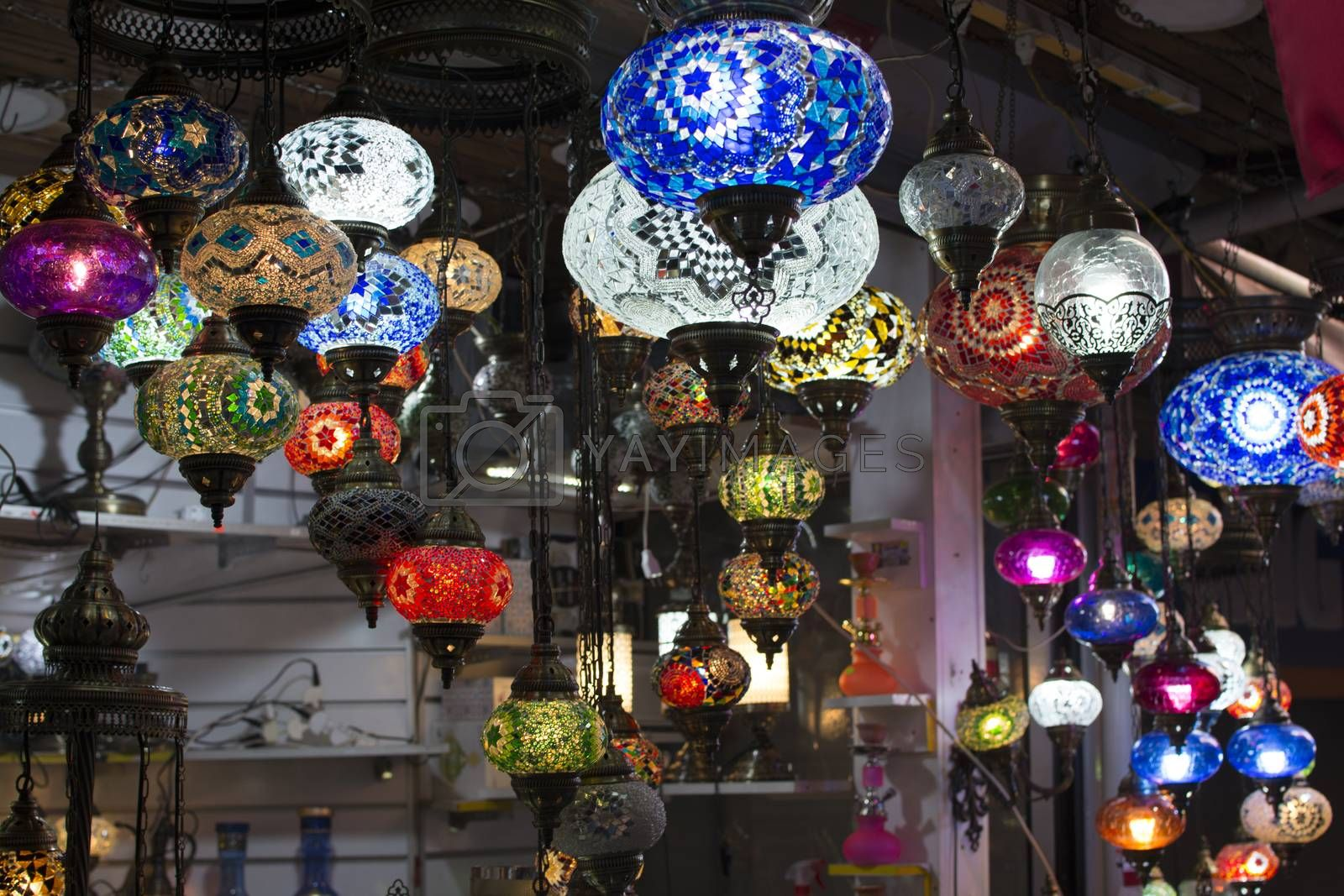 Ottoman chandeliers by Nursel