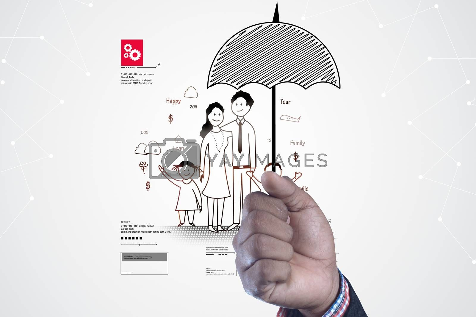 Insurance concept by cuteimage