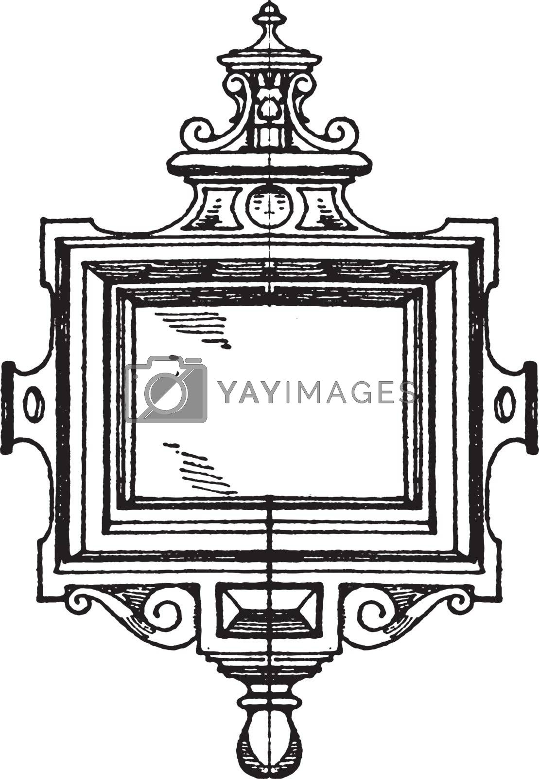 Renaissance Strap-Work Frame was made during the 17th century, v by Morphart