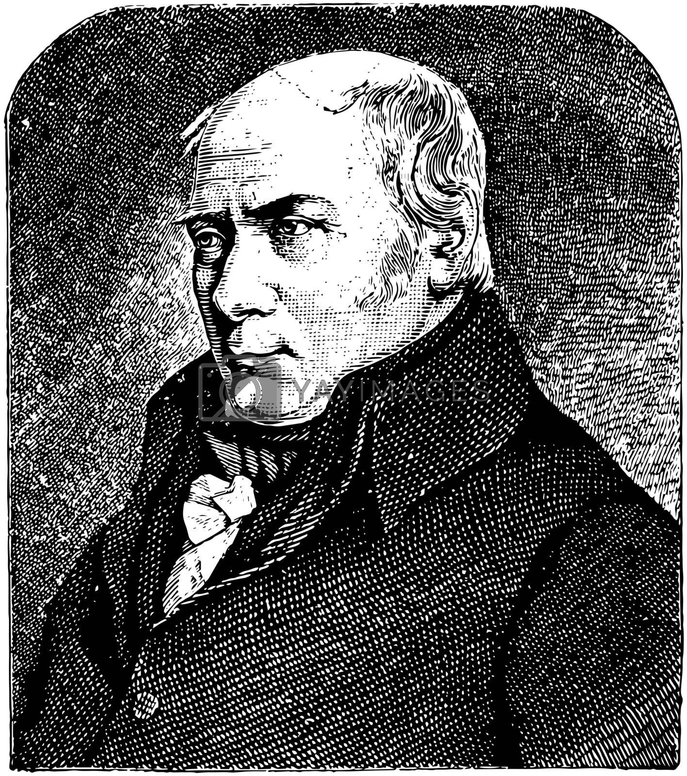 William Smith, vintage illustration by Morphart