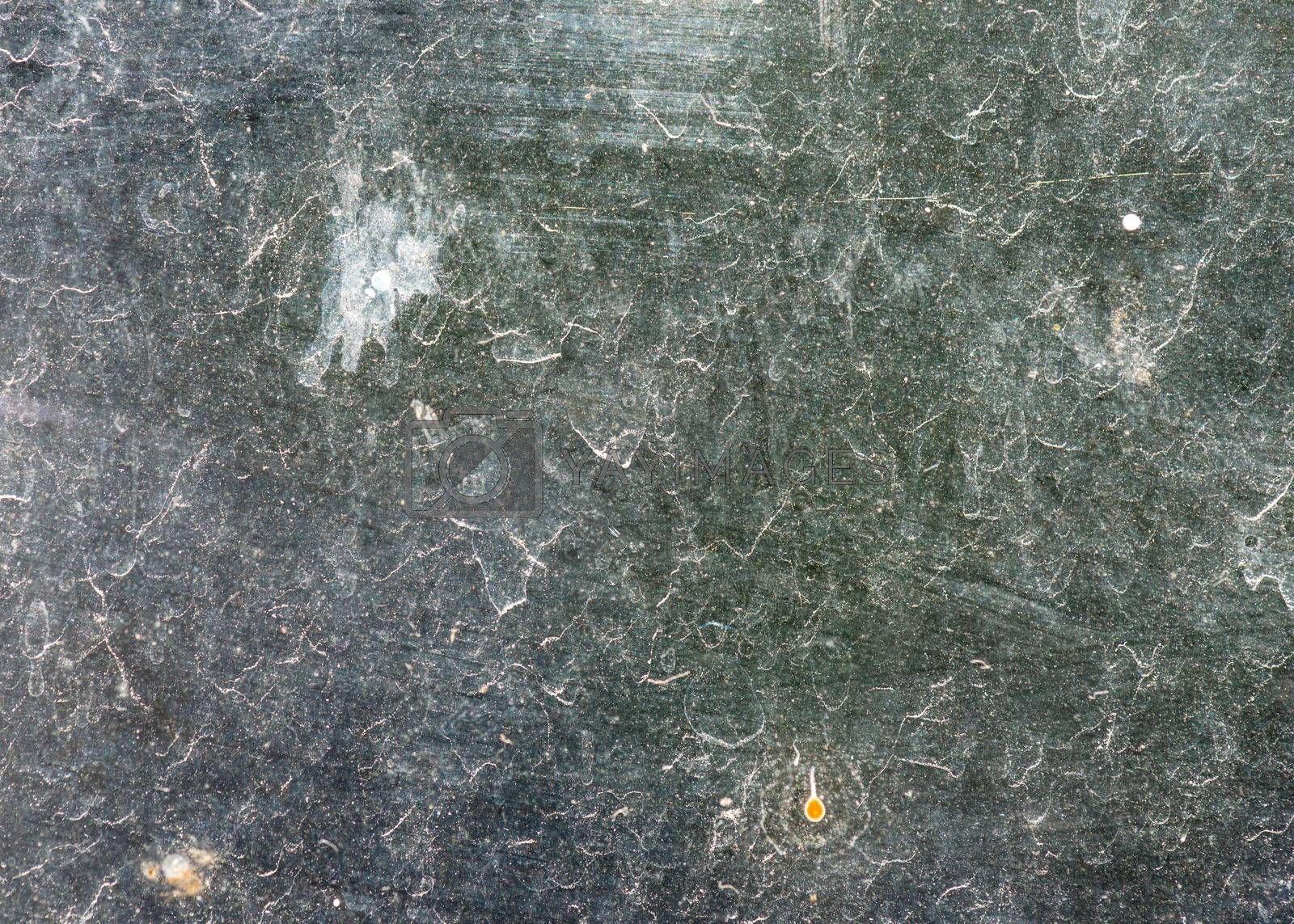 Backlit dirty glass texture