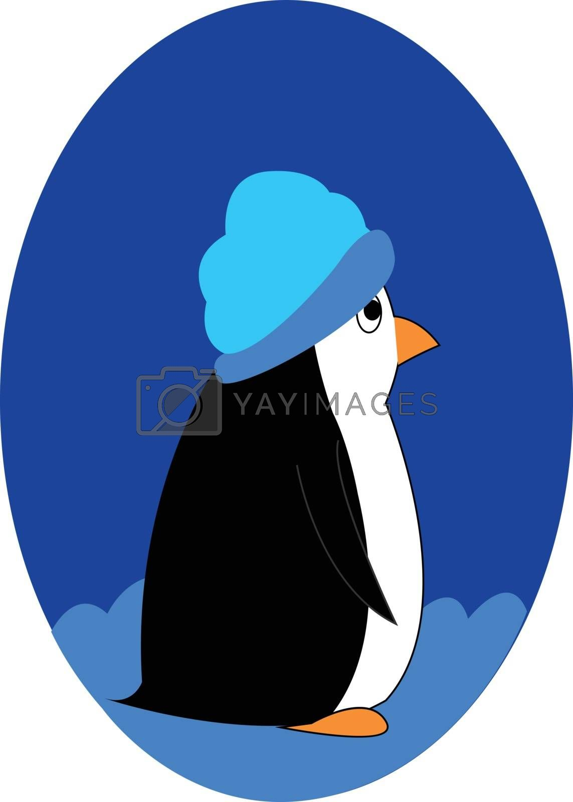 Royalty free image of Cartoon picture of a cute penguin isolated on the white backgrou by Morphart