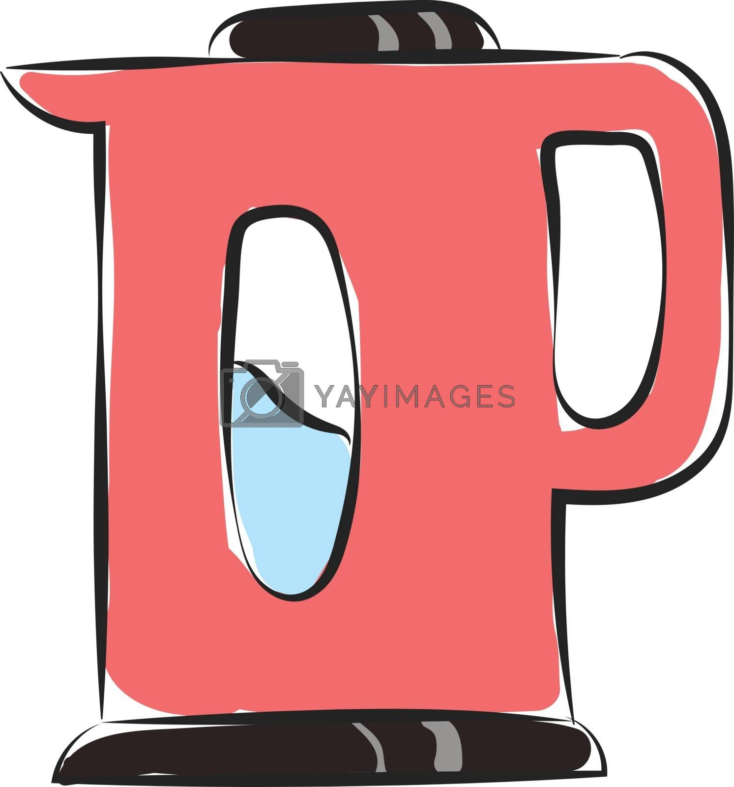 Royalty free image of Clipart of a pink colored vacuum flask vector or color illustrat by Morphart