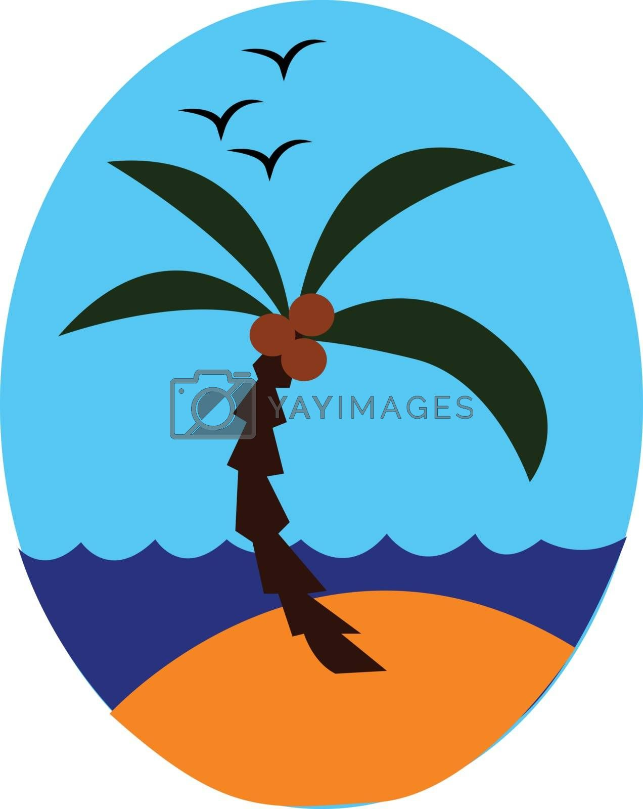 Royalty free image of Painting of a sea vector or color illustration by Morphart