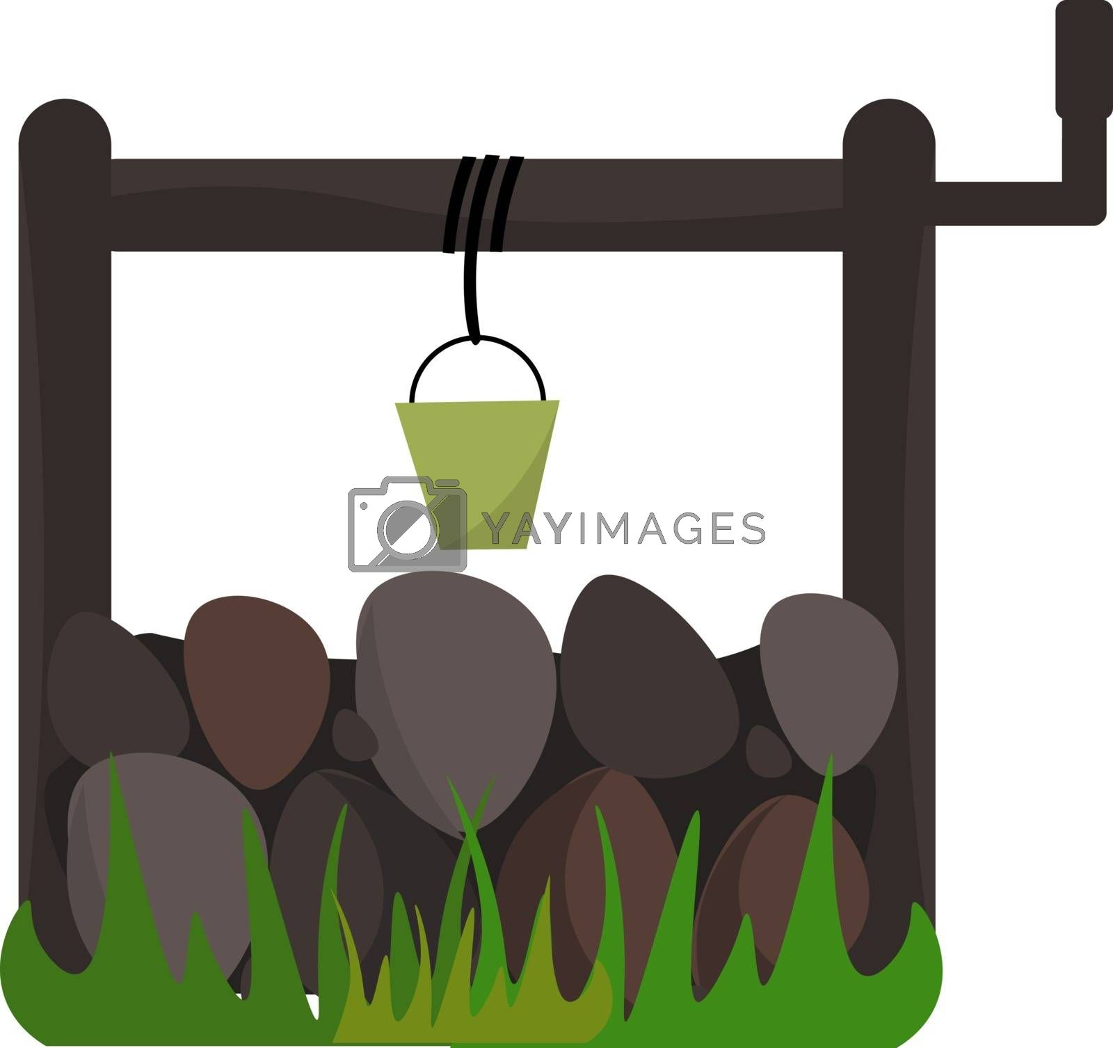 Royalty free image of A water well vector or color illustration by Morphart