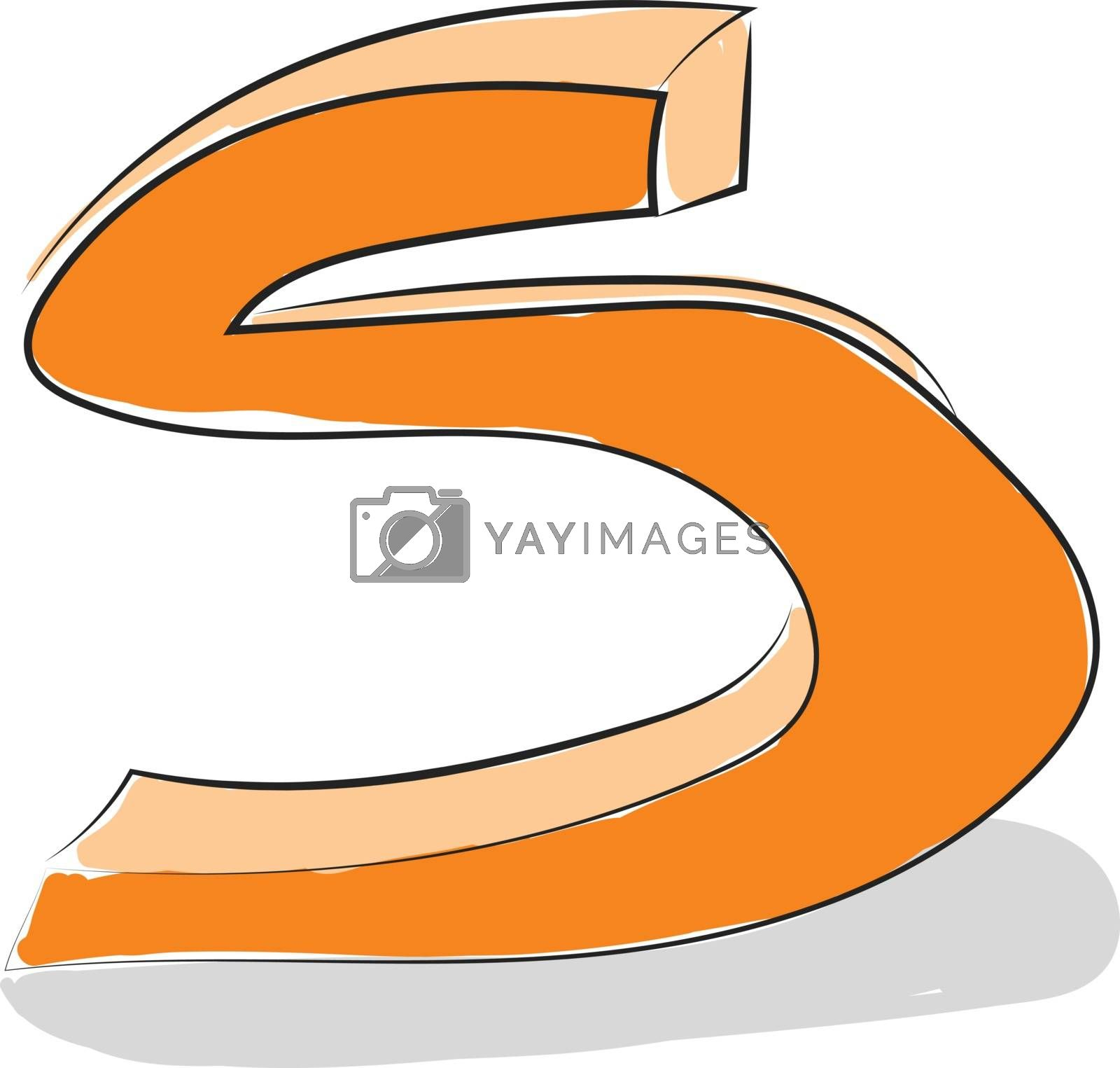 Royalty free image of Letter S alphabet vector or color illustration by Morphart