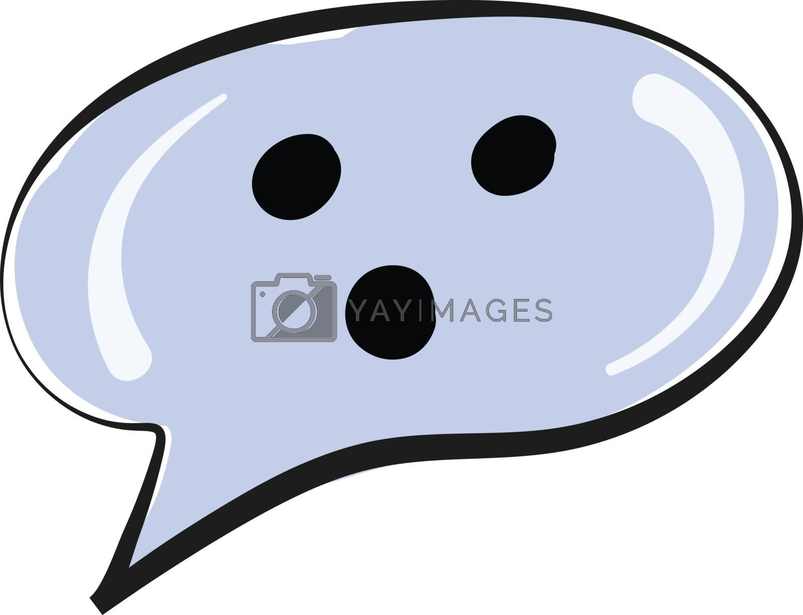 Royalty free image of A speech bubble/Dialogue balloons/Word balloons vector or color  by Morphart