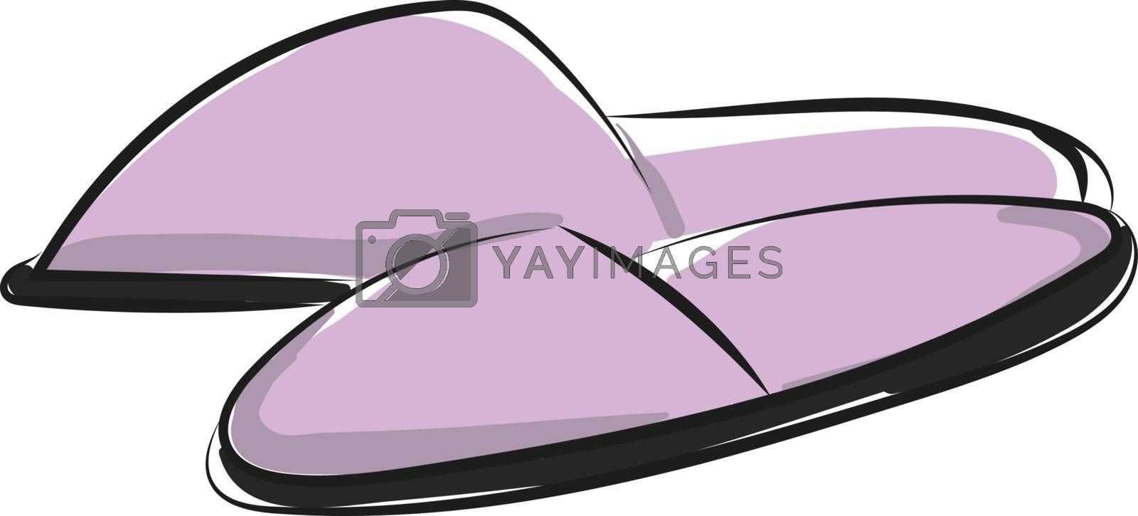 Royalty free image of Closed toe unisex indoor slippers/Carpet slippers/Bedroom slippe by Morphart