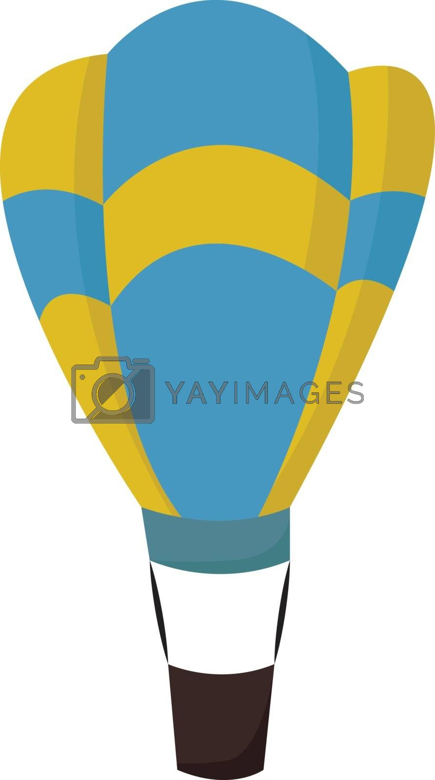 Royalty free image of A hot air balloon , vector or color illustration by Morphart