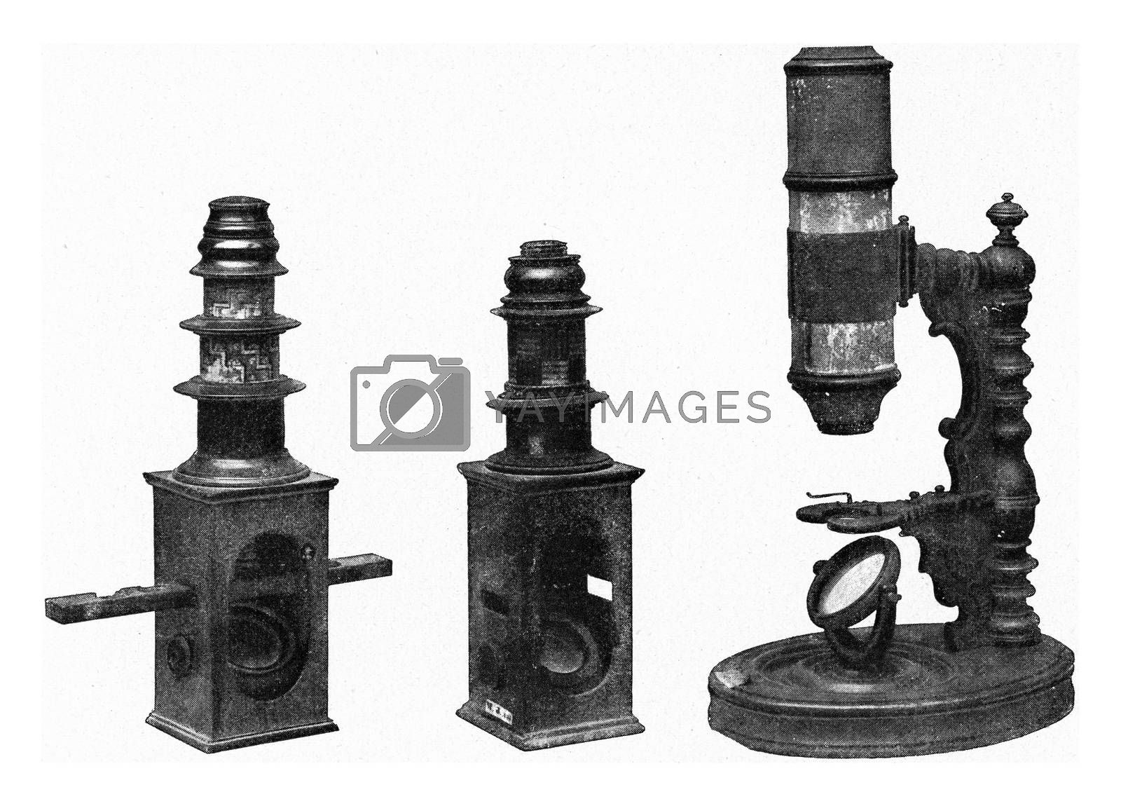 Old microscopes of the Germanic National Museum of Nuremberg, vi by Morphart