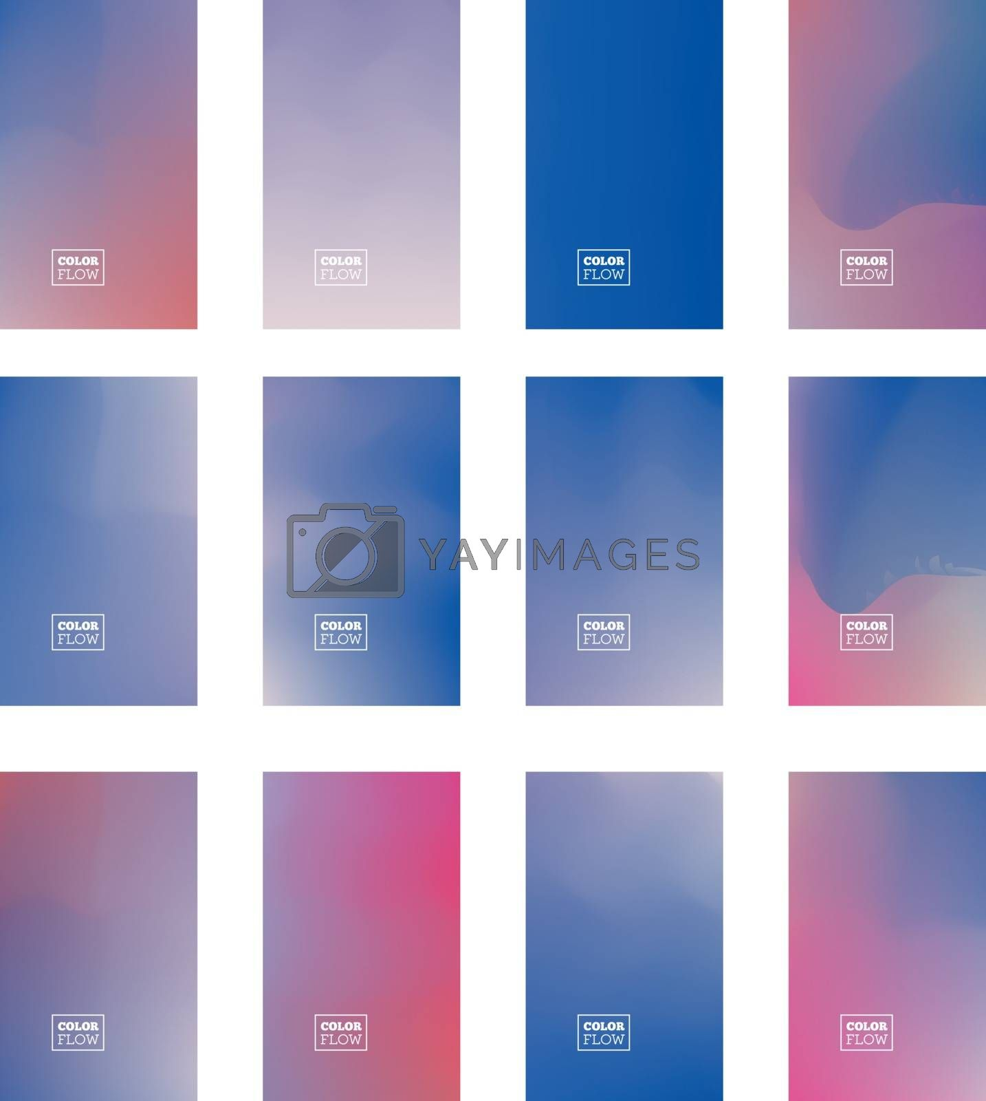 Gradient Mesh vector background can be used as a screen saver on a computer screen, smartphone