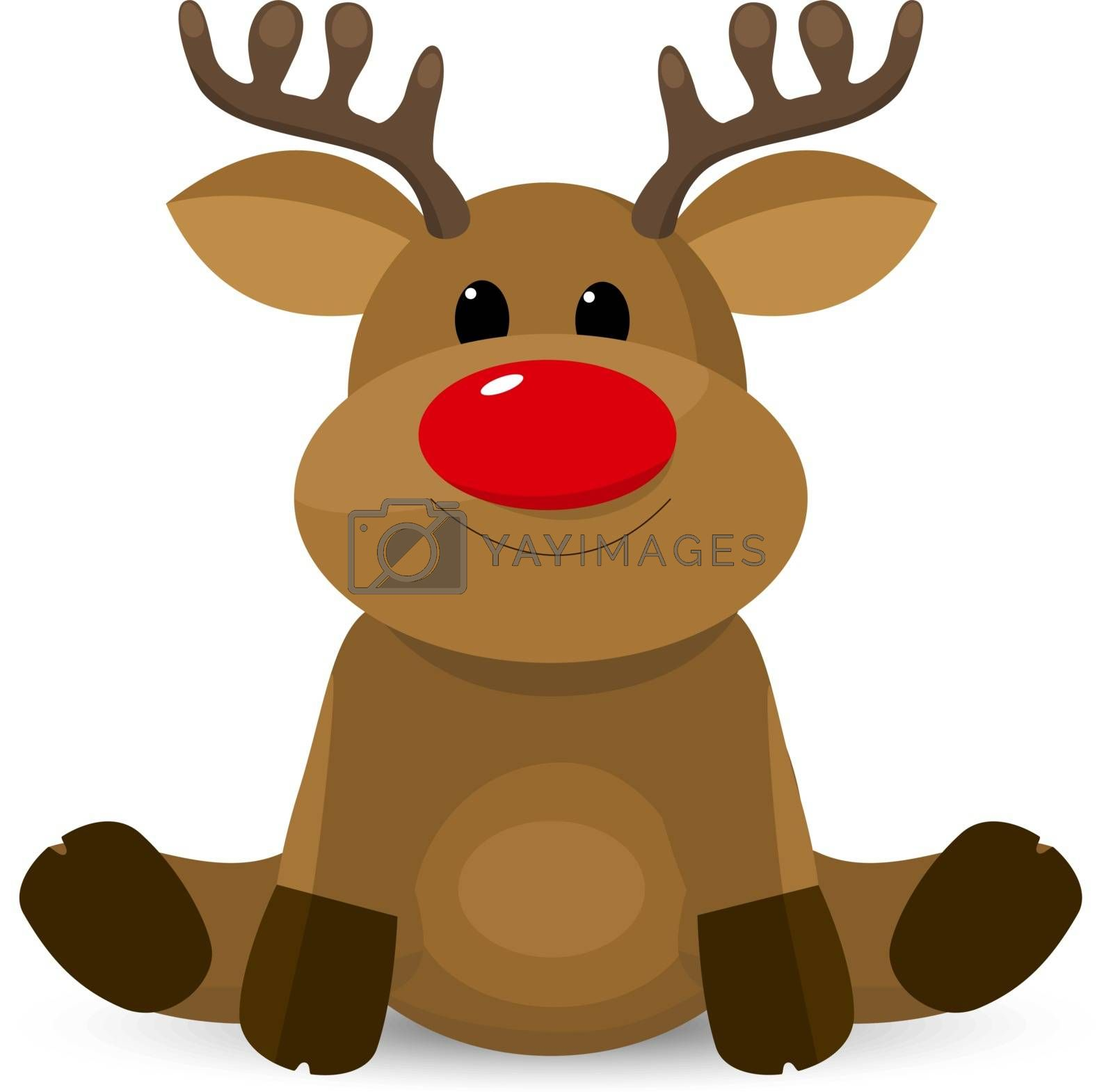 Cute little reindeer by liolle
