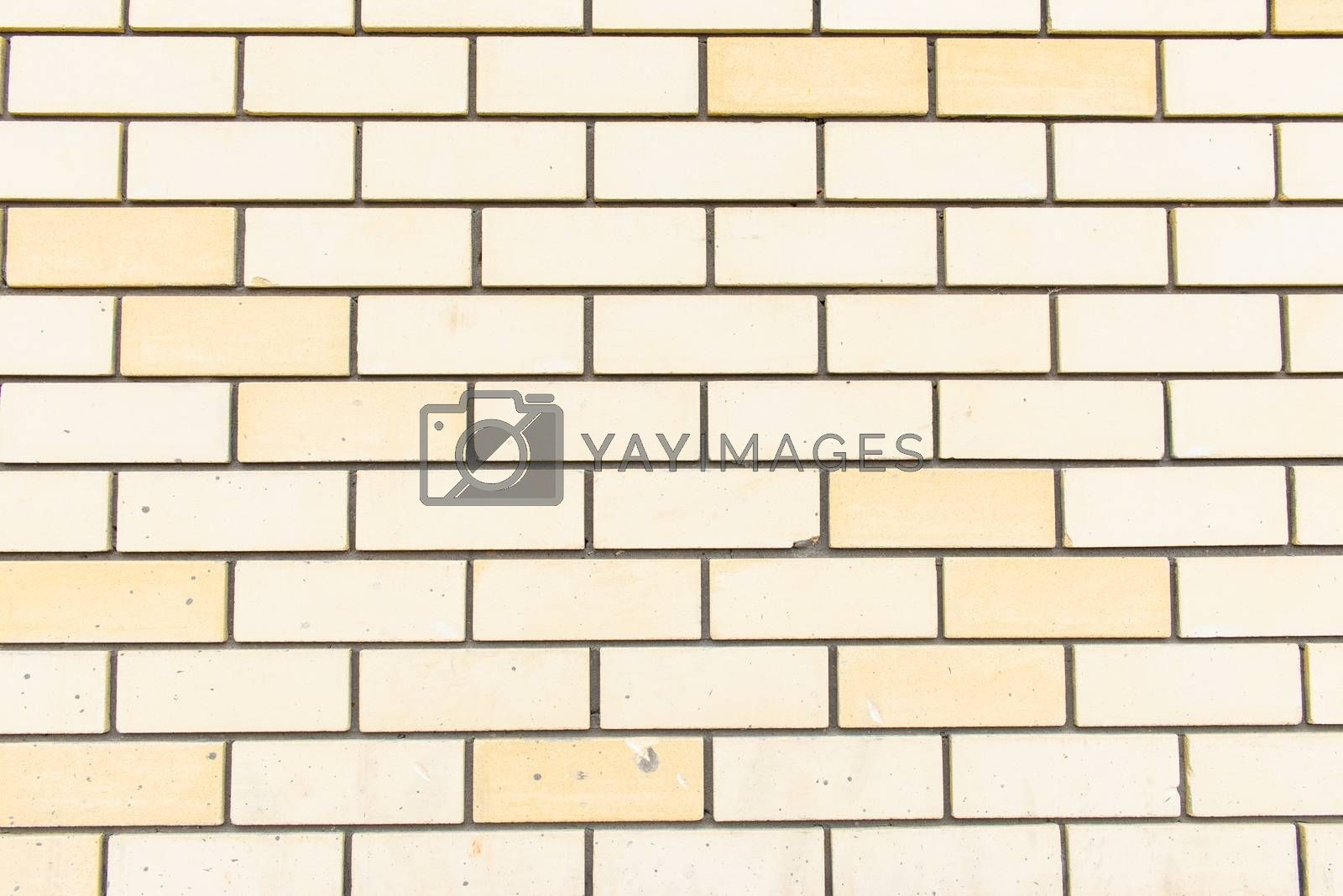 White brick wall, perfect as a background, square photograph.
