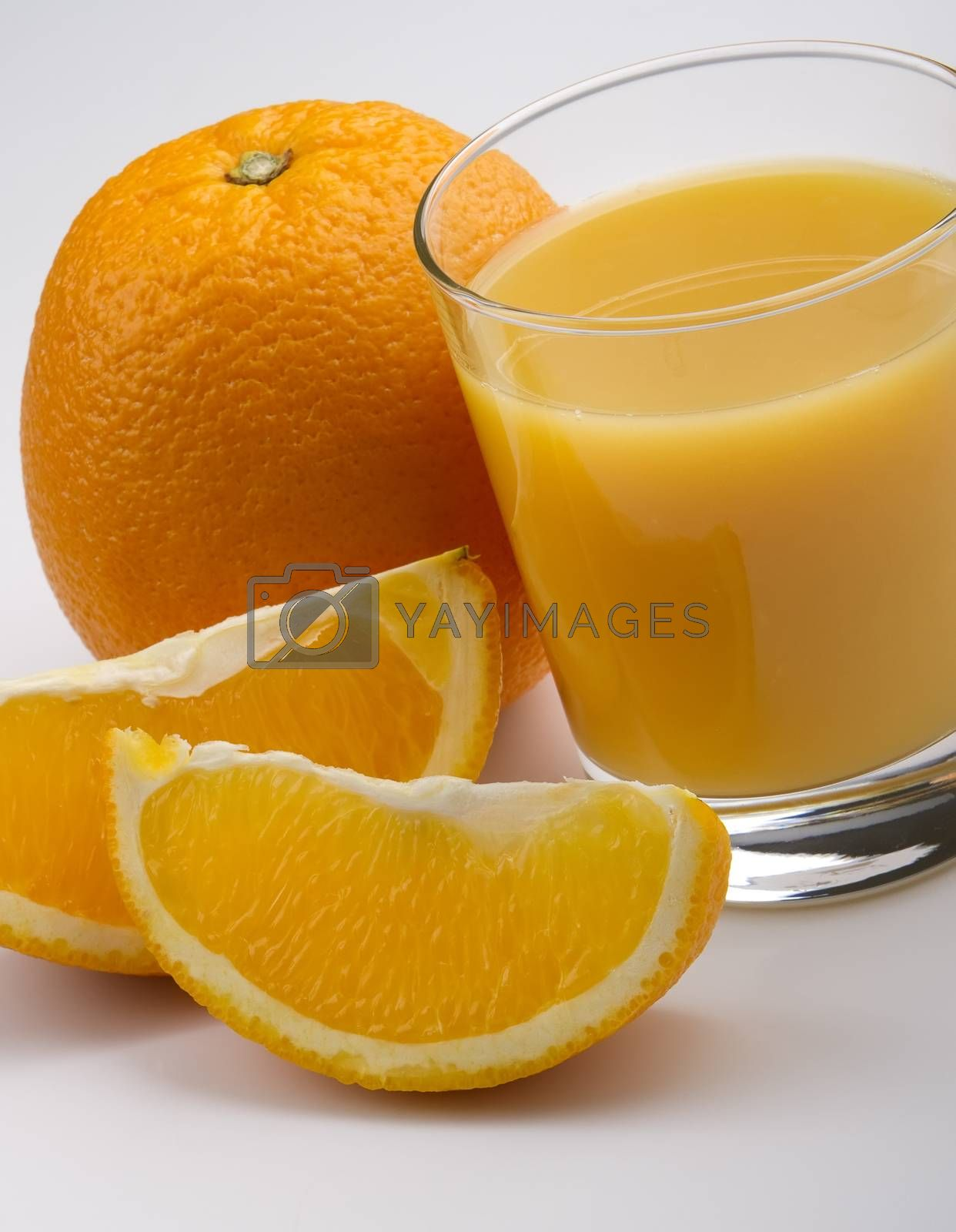 Royalty free image of orange juice by phortcach