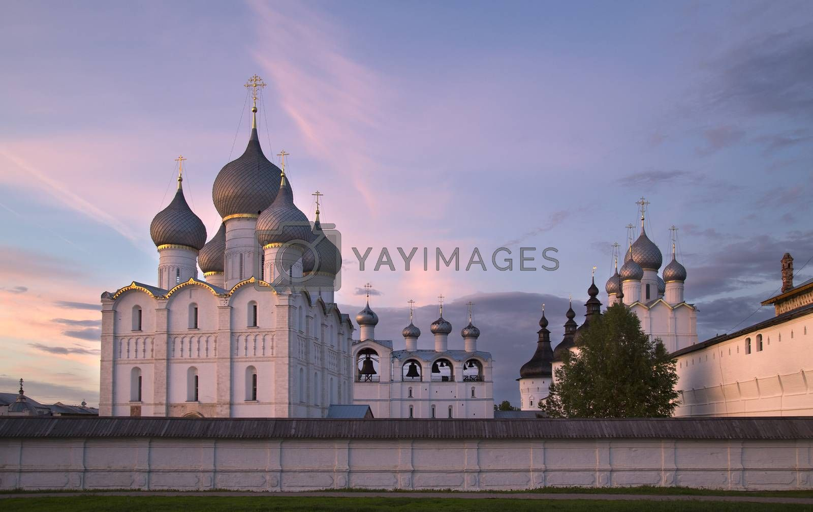 Royalty free image of Rostov the Great, Russia. View on old Kremlin. by phortcach