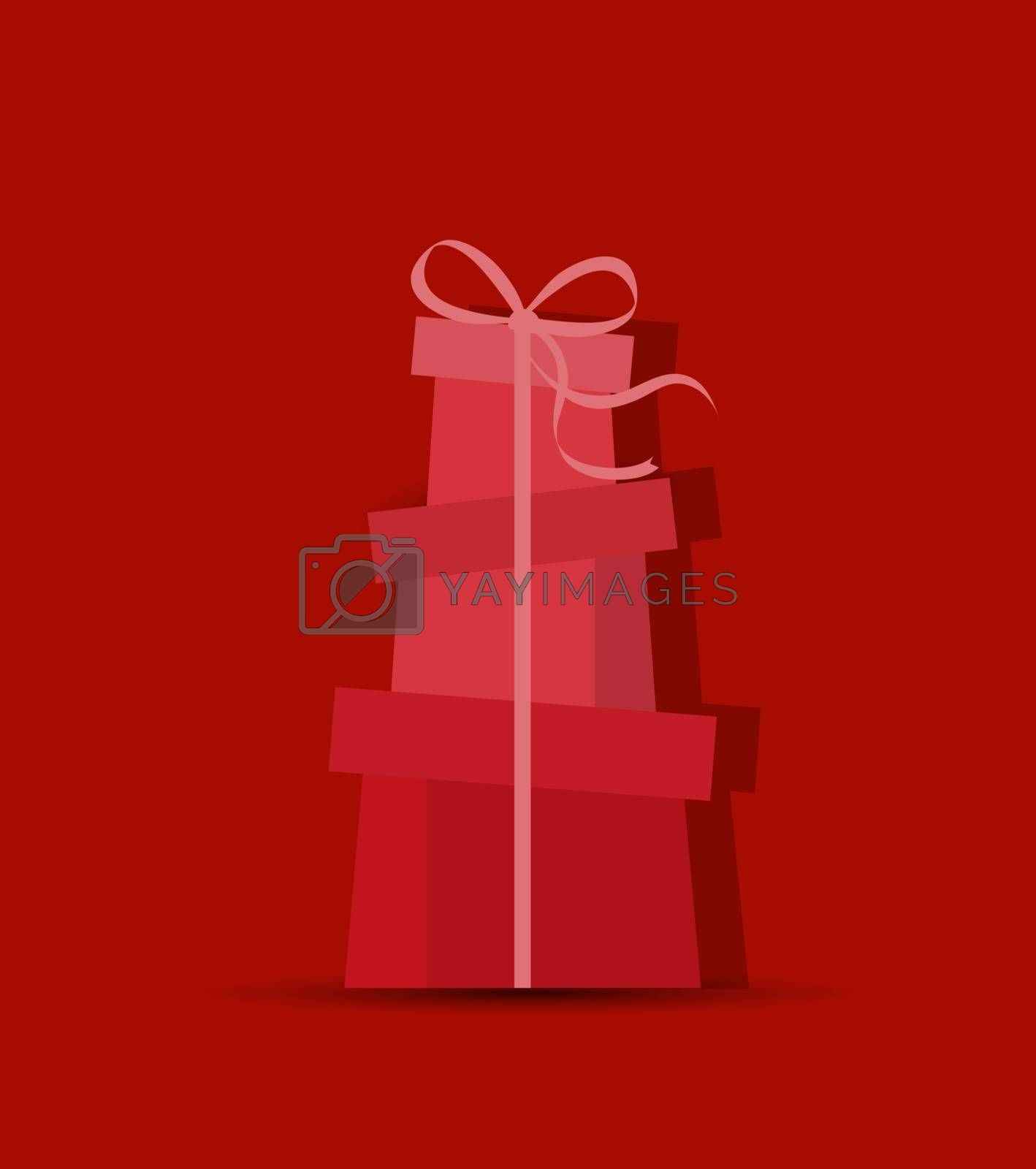 Royalty free image of Decorative Christmas gifts by odina222