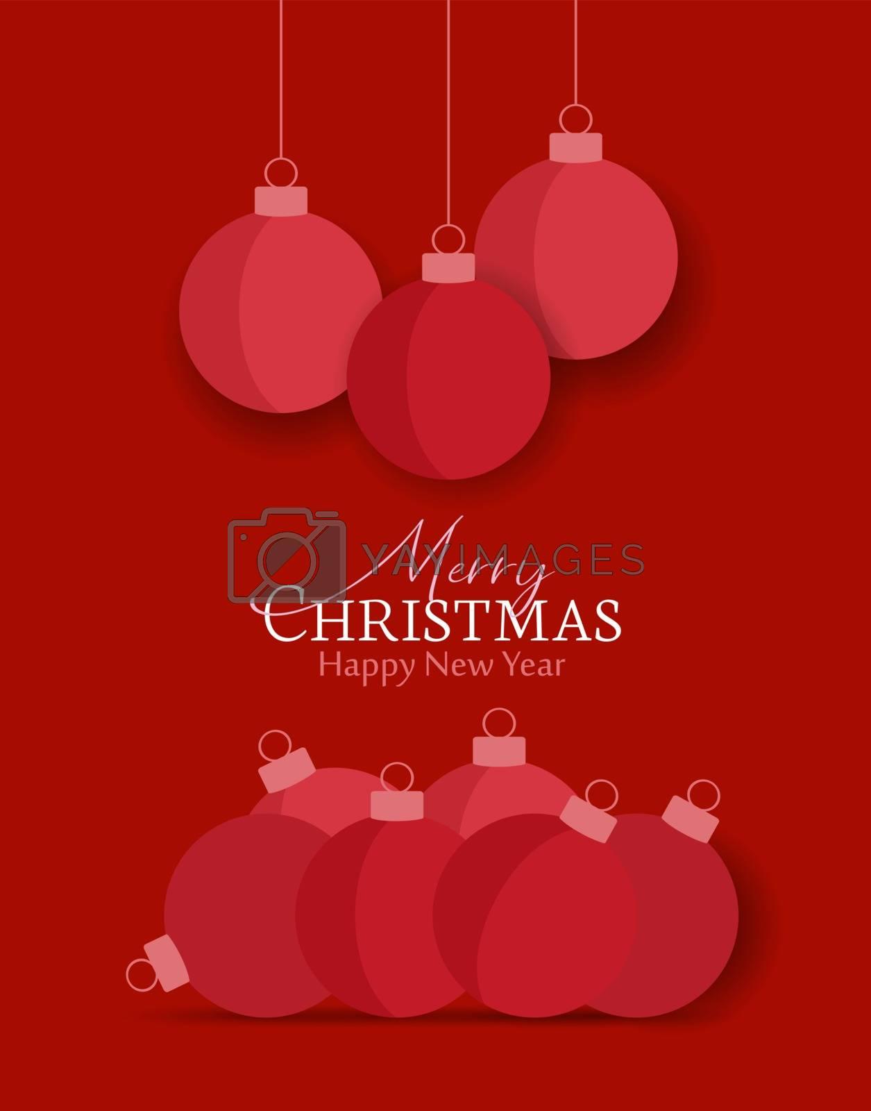 Royalty free image of Decorative Christmas balls by odina222