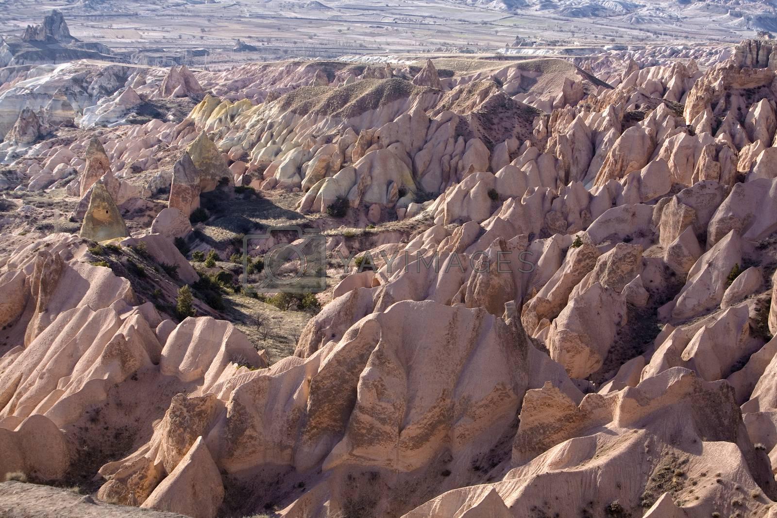 Royalty free image of Cappadocia, Turkey by phortcach