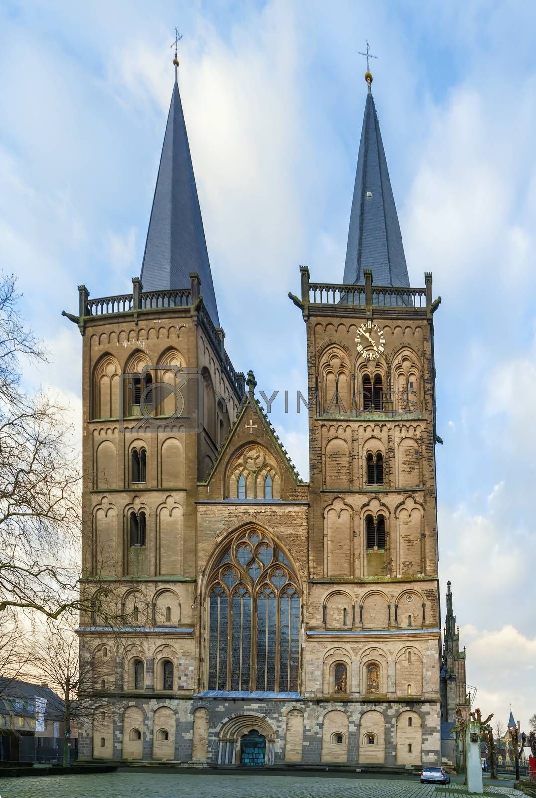Royalty free image of Xanten Cathedral, Germany by borisb17