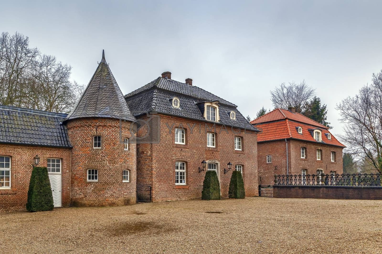Royalty free image of Water castle Anholt, Germany by borisb17