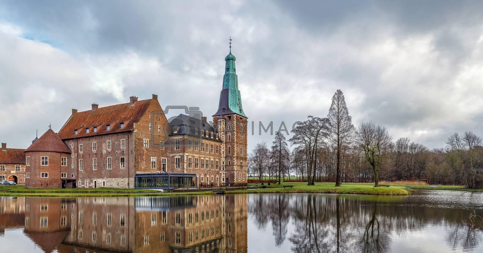 Royalty free image of Raesfeld Castle, Germany by borisb17