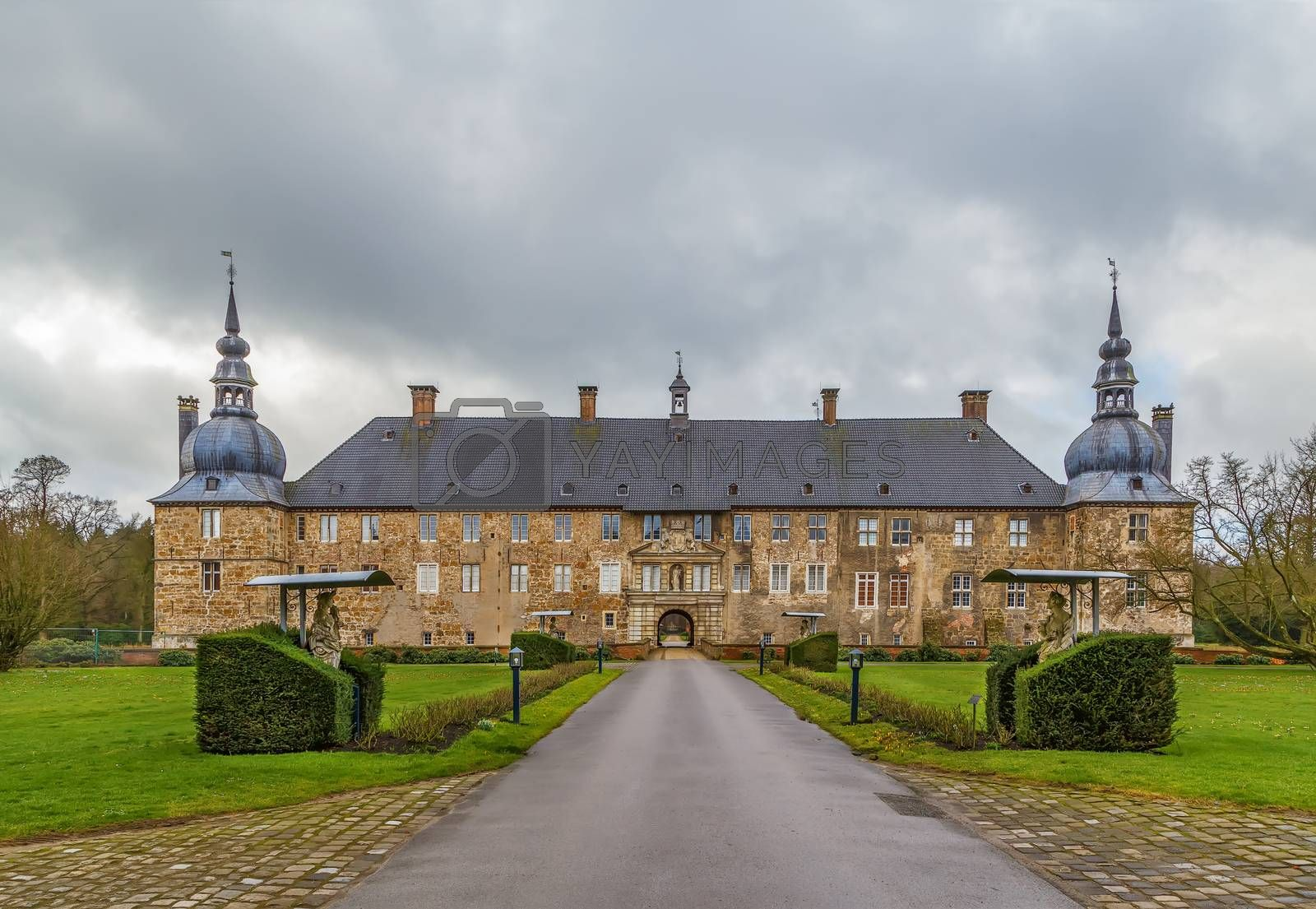 Royalty free image of Castle Lembeck, Germany by borisb17