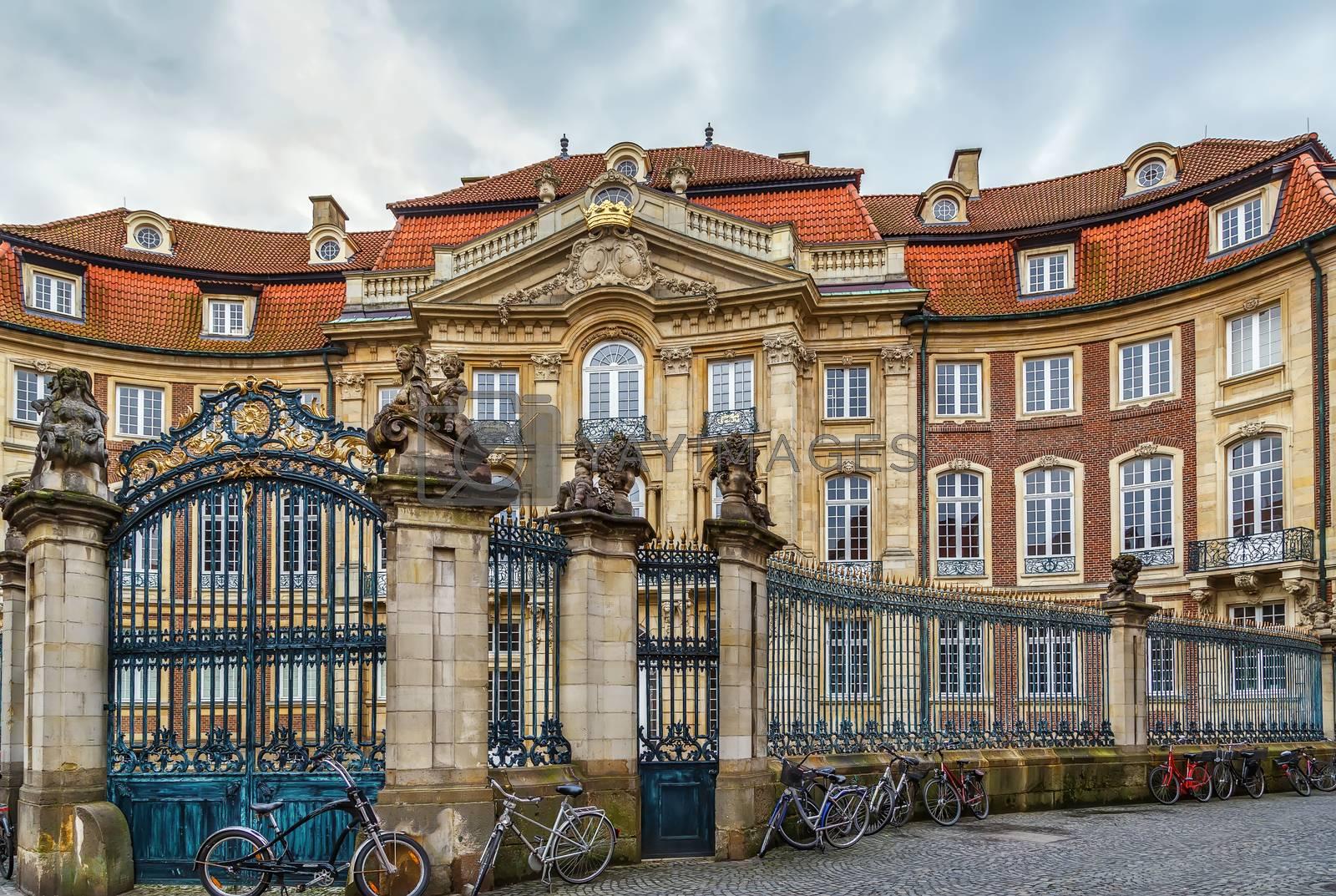 Royalty free image of Erbdrostenhof palace, Munster, Germany by borisb17