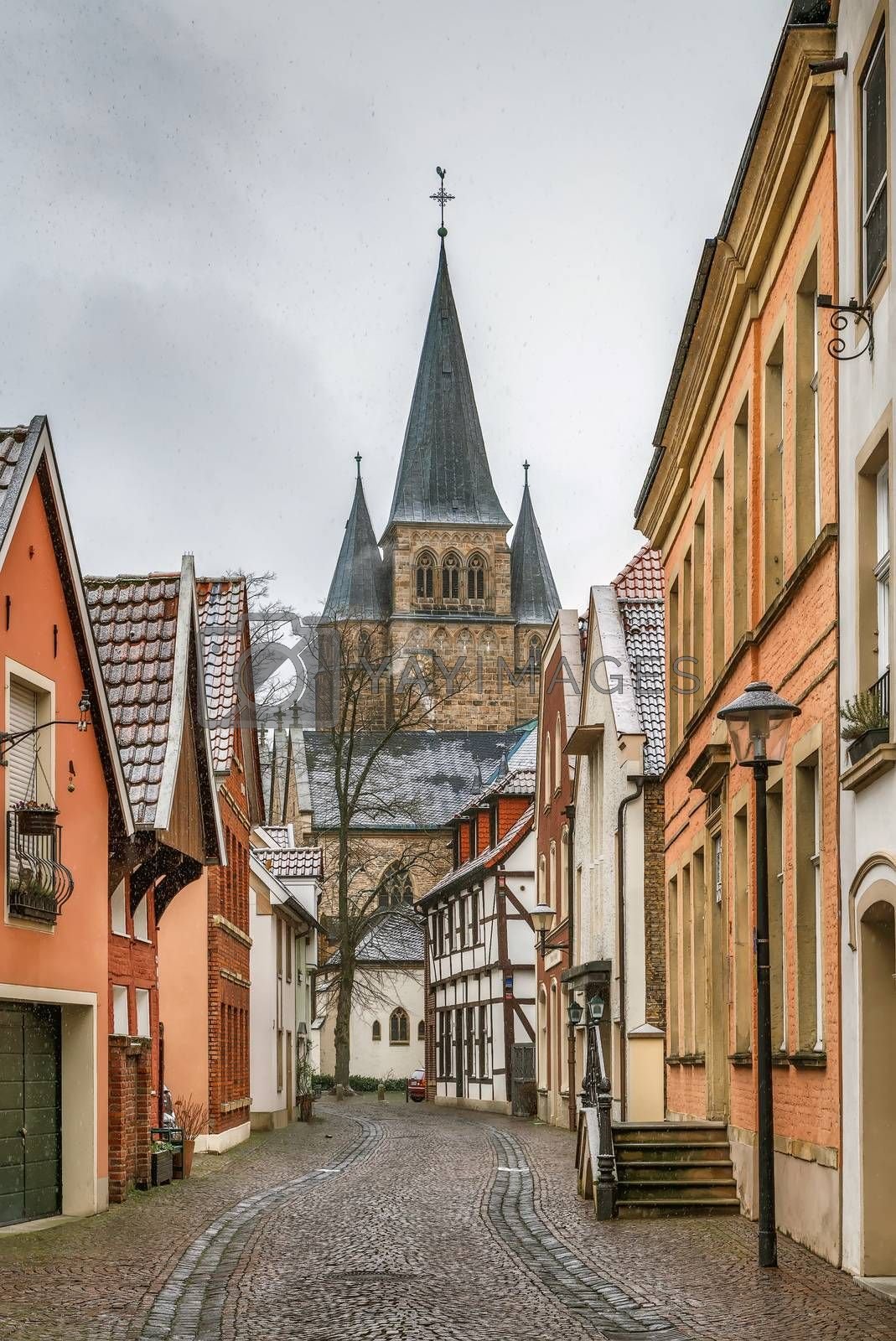 Royalty free image of Street in Warendorf, Germany by borisb17