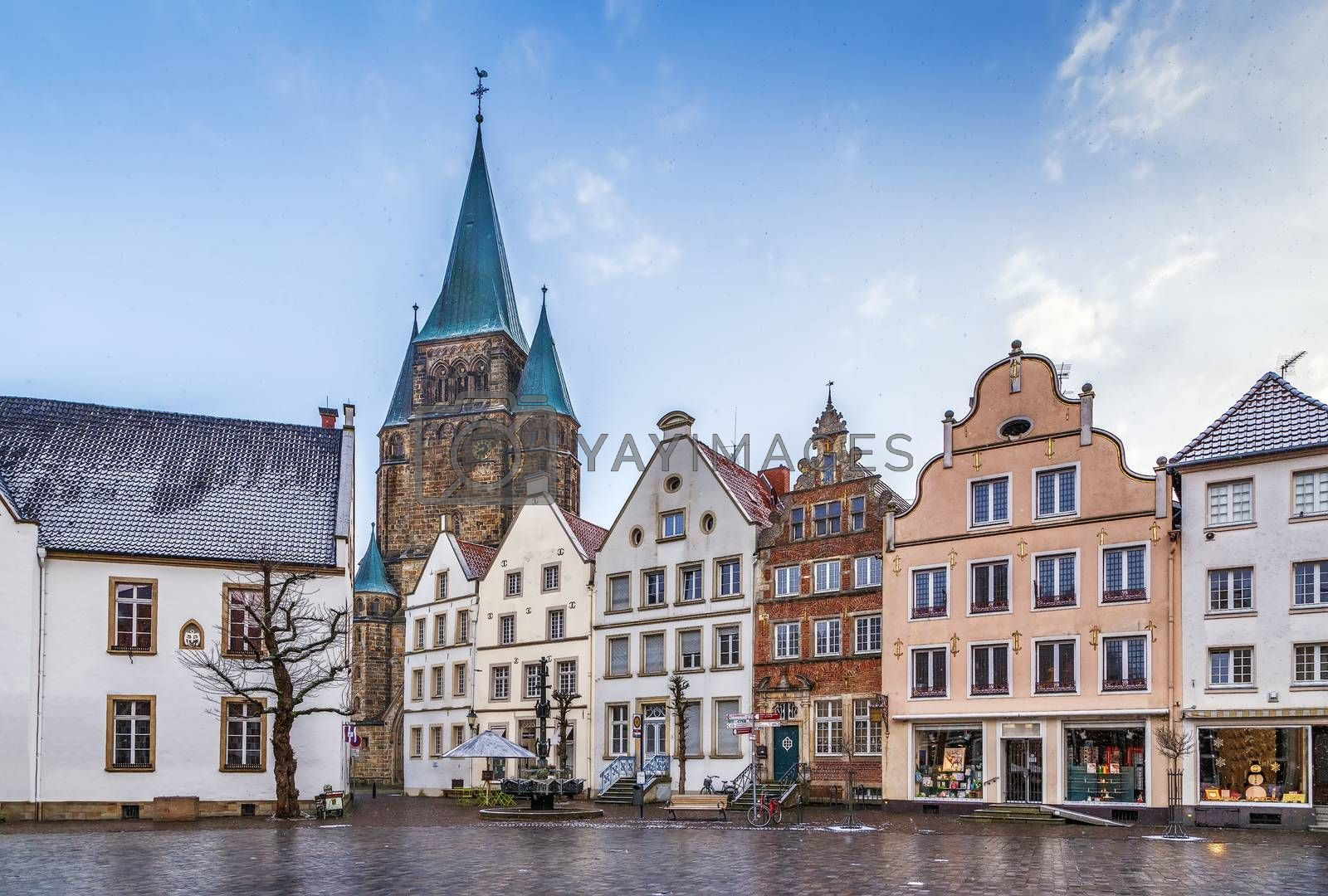 Royalty free image of Historical market square, Warendorf, Germany by borisb17