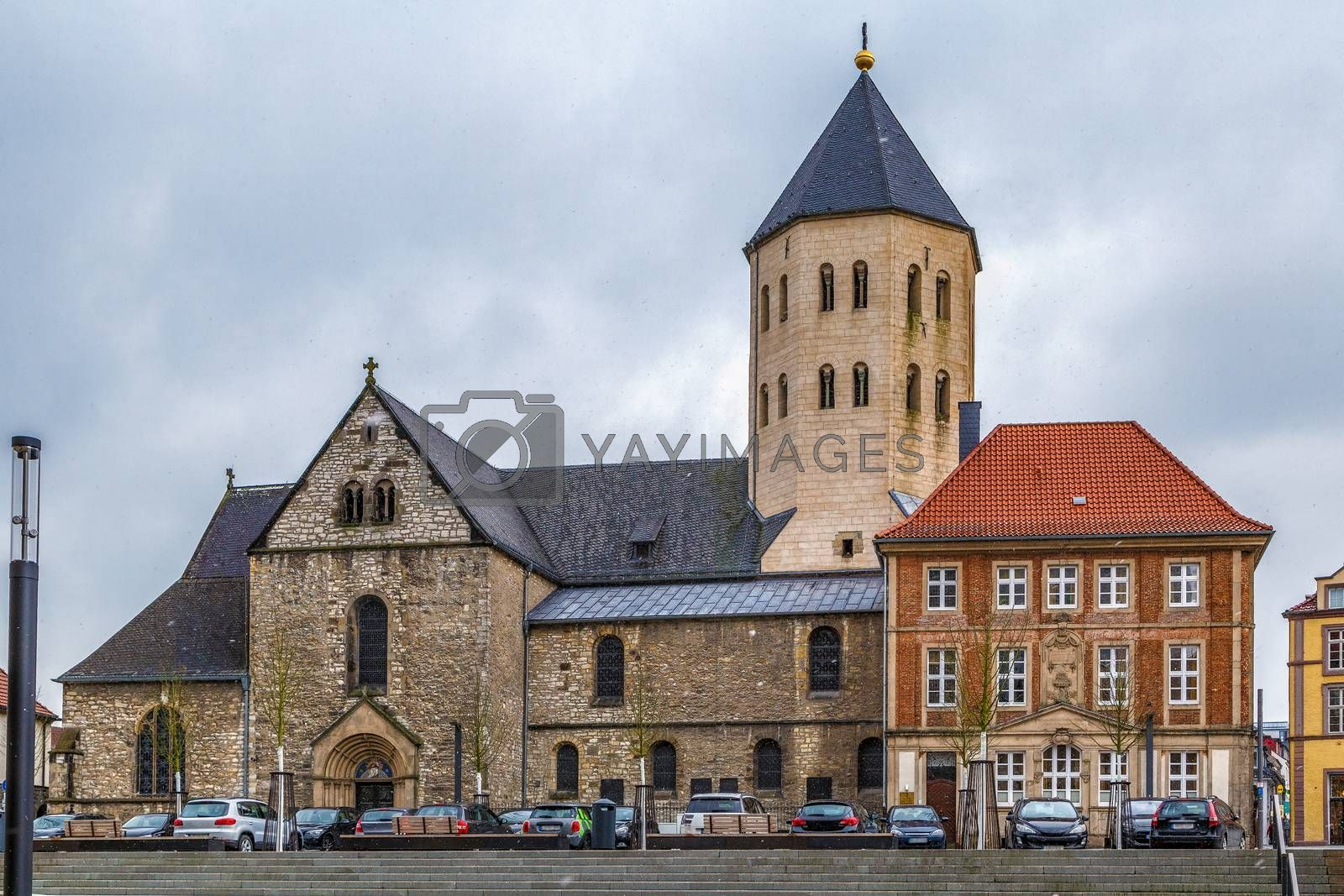 Royalty free image of St. Ulrich Church, Paderborn, Germany by borisb17