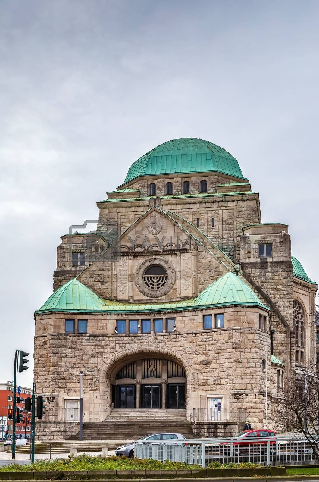 Royalty free image of Old Synagogue, Essen, Germany by borisb17