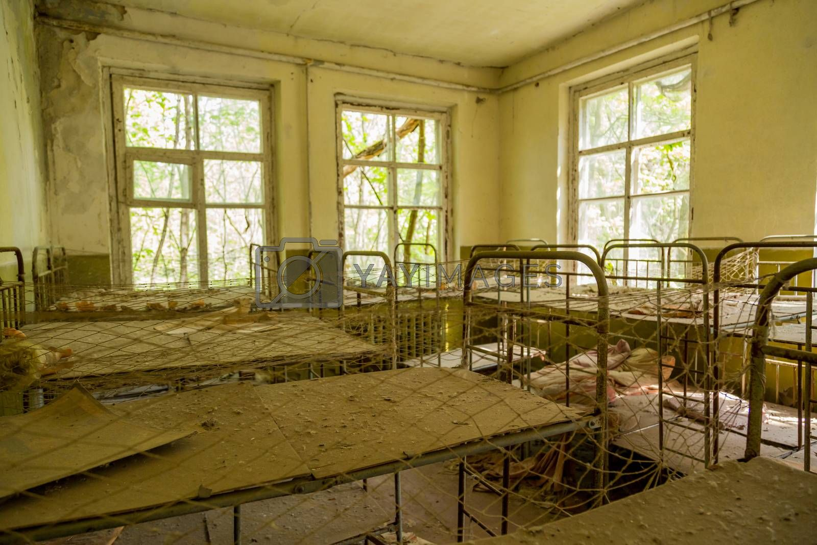 Royalty free image of School in Chernobyl by zittto