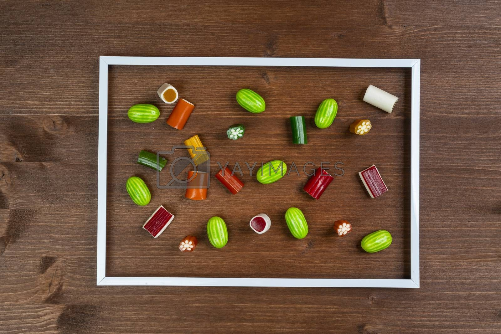 Royalty free image of Colorful candies by sergiodv