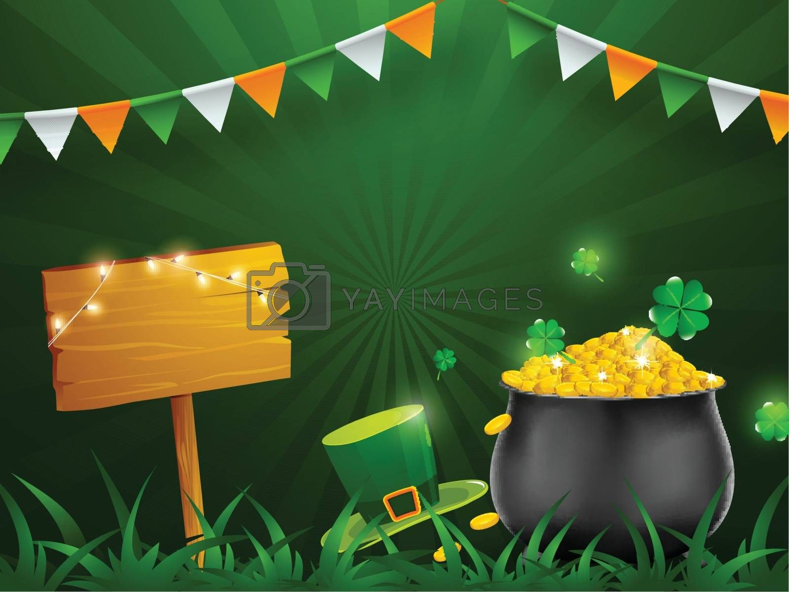 Royalty free image of St. Patrick's Day celebration concept, illustration of tradition by aispl