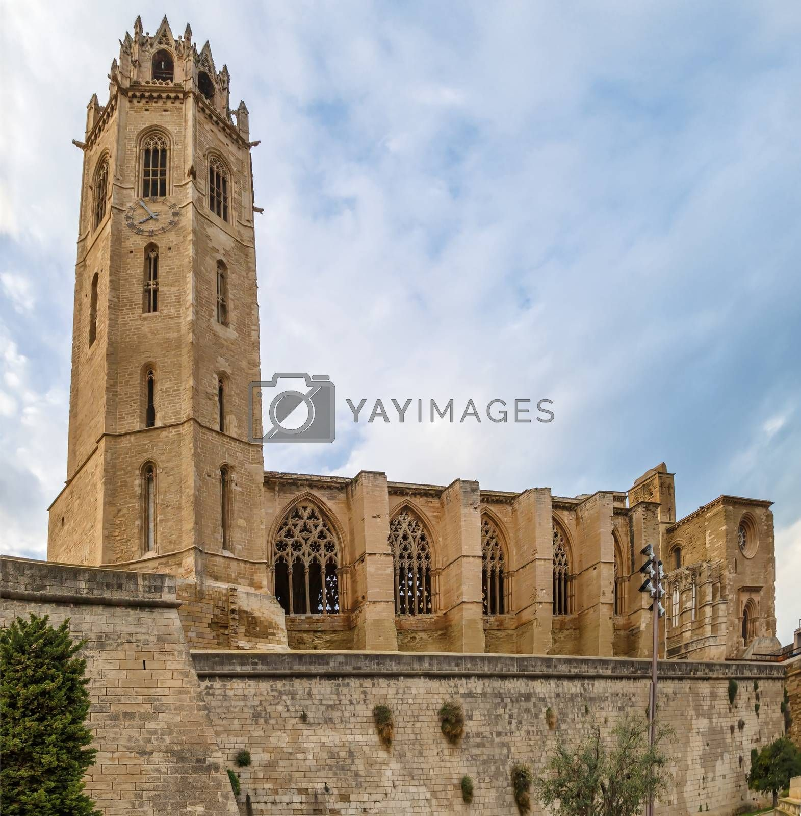 Cathedral of St. Mary of La Seu Vella is the former cathedral church of the Roman Catholic Diocese of Lleida, in Lleida, Catalonia, Spain