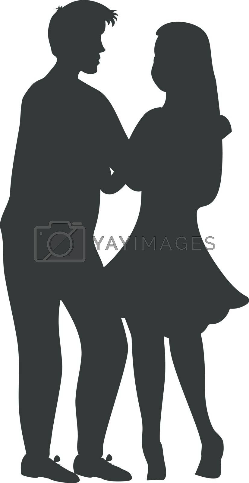 Silhouette | Couples walking, Couple picture poses, Walk