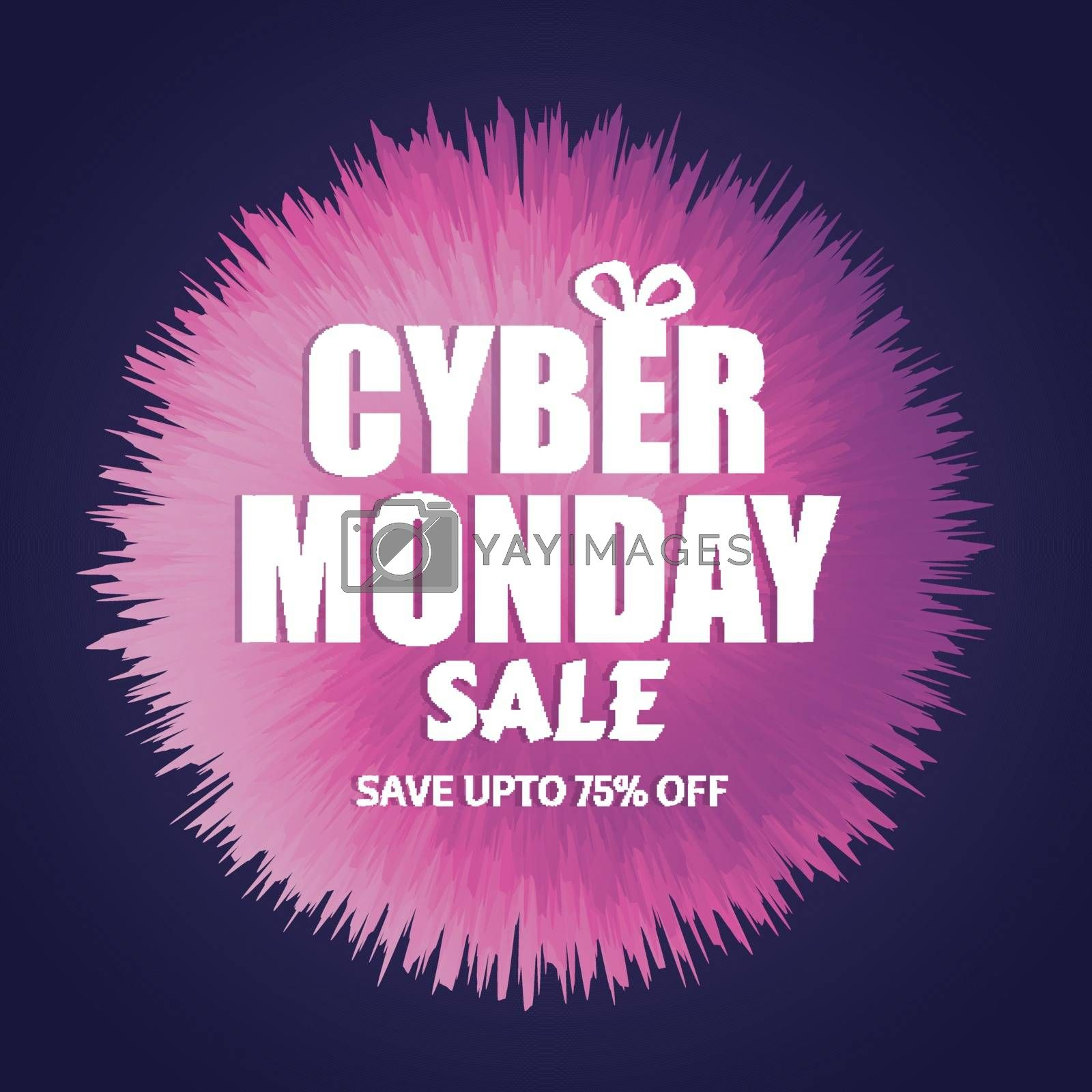 Save up to 75% discount offer for Cyber Monday Sale. Template or by aispl