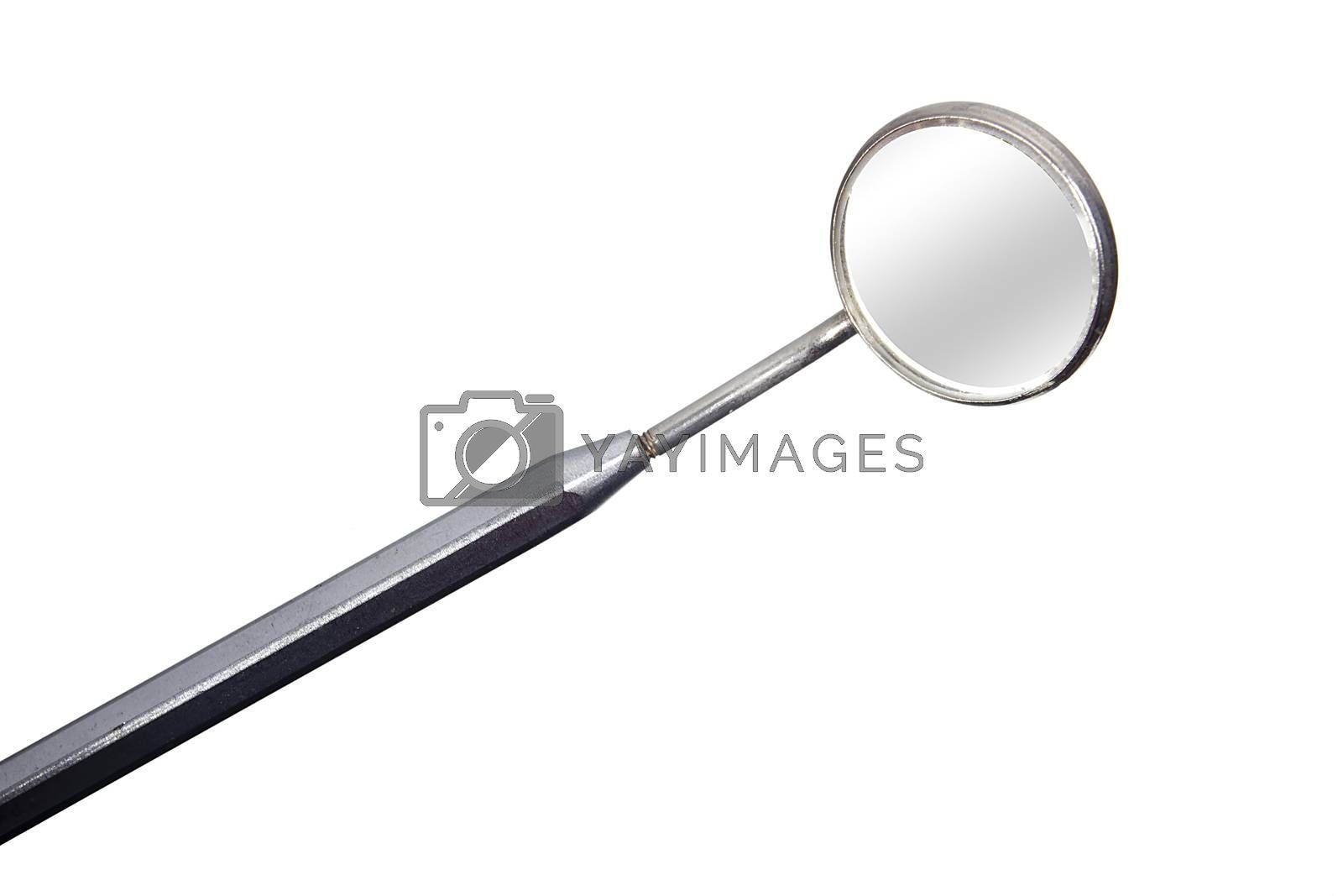 Dental tools. Dental tools on a white background