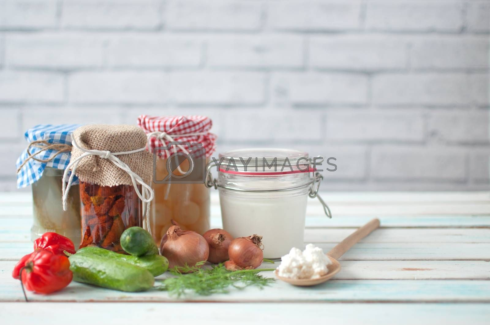 Royalty free image of Fermented food by unikpix