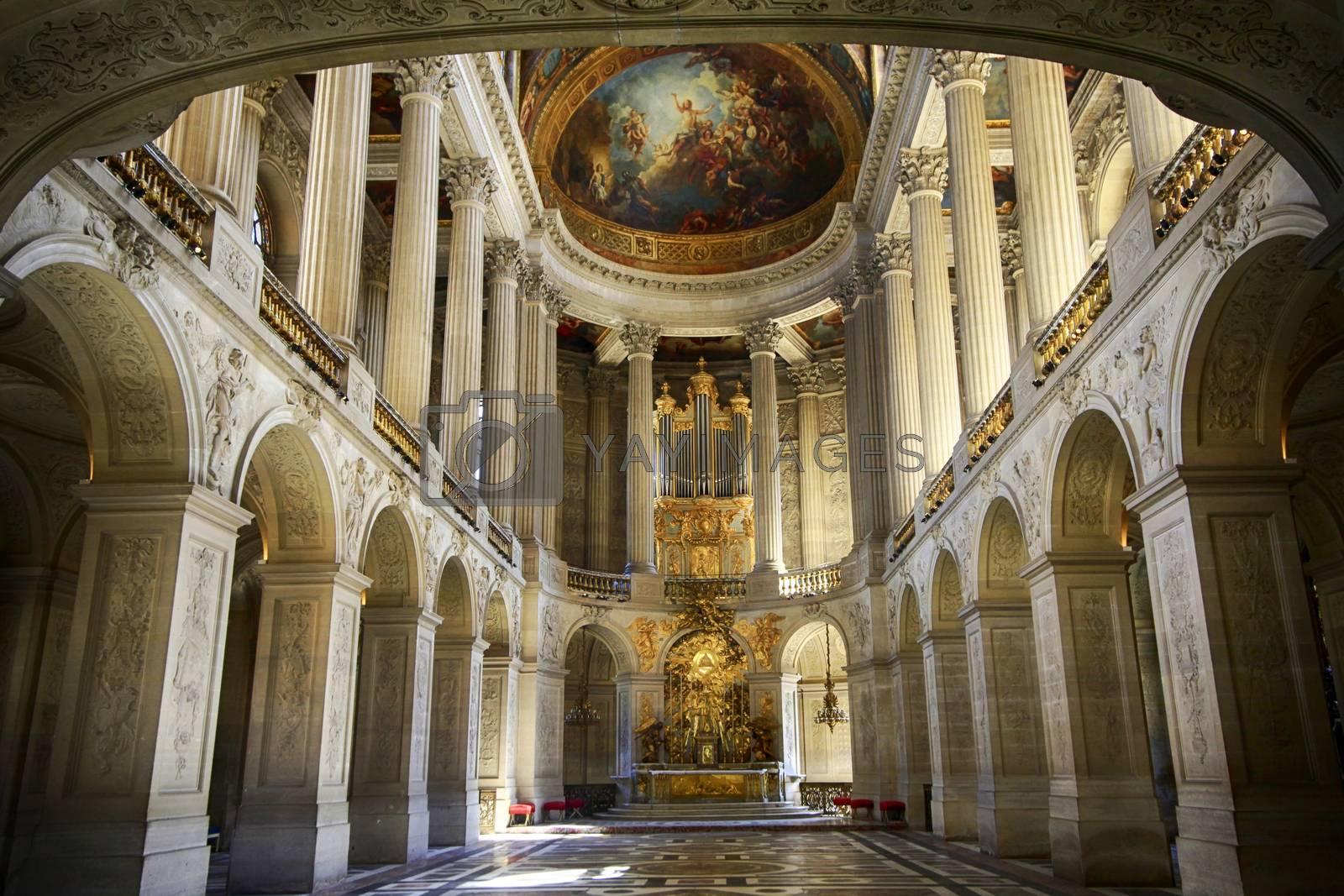 Royal Chapel of Versailles Palace, Paris, France