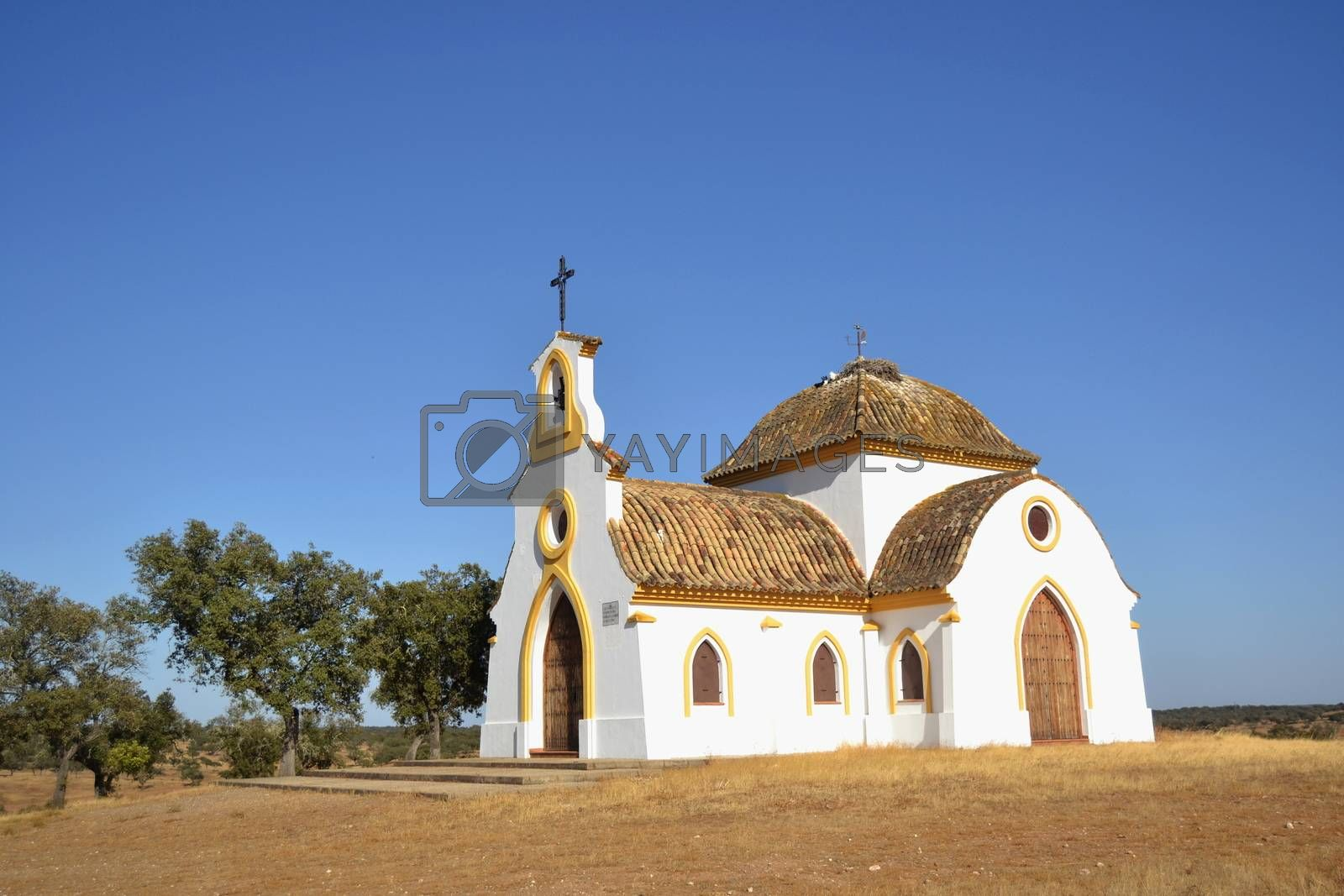Small hermitage in the countryside to celebrate pilgrimages in spring