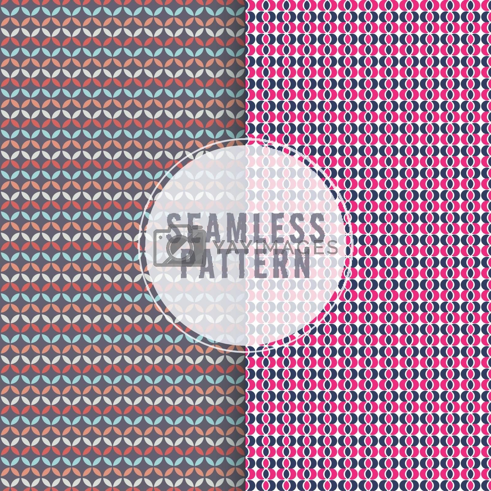 Set of beautiful seamless patterns. by aispl
