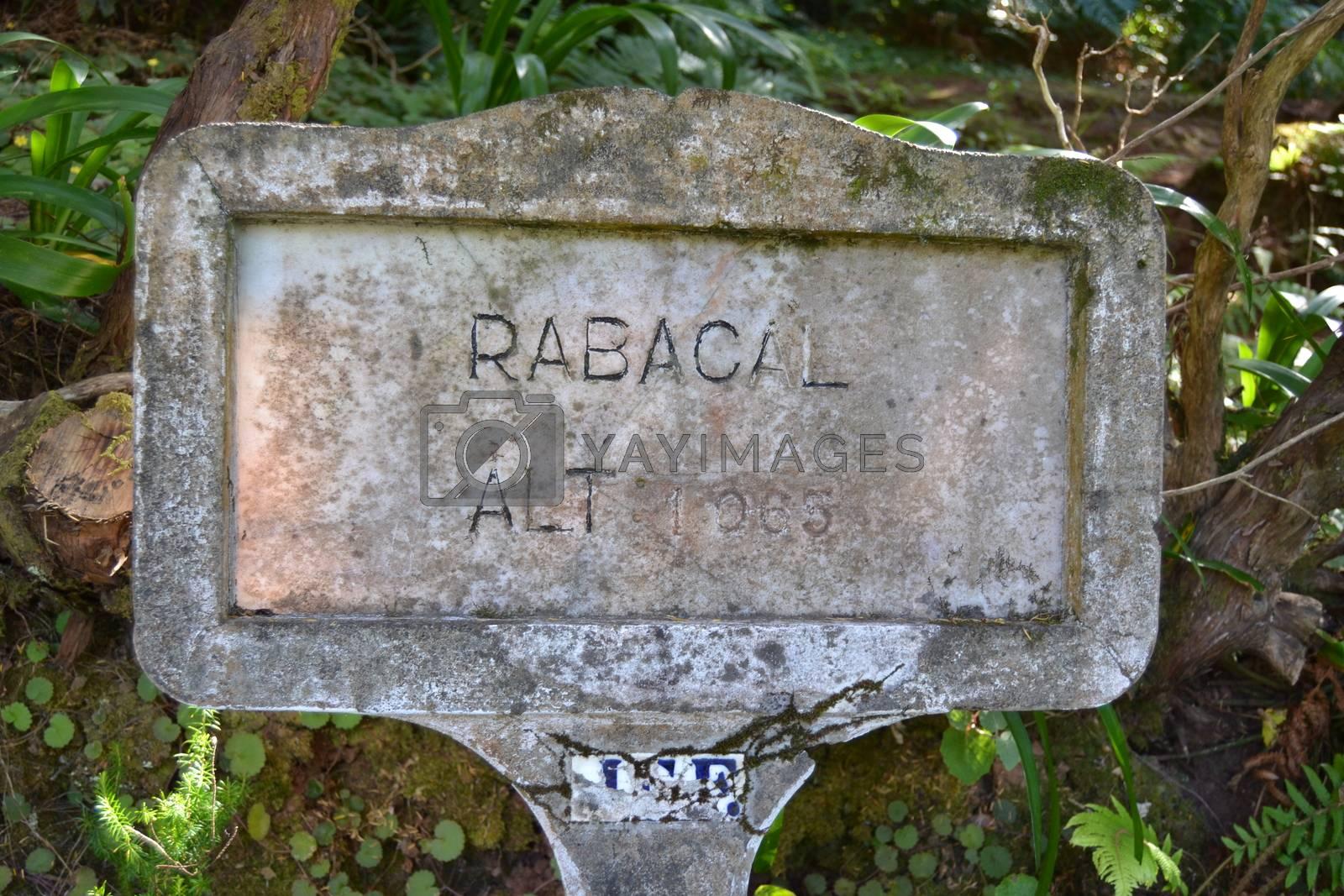 Sign of Rabaçal by VistaFrontale