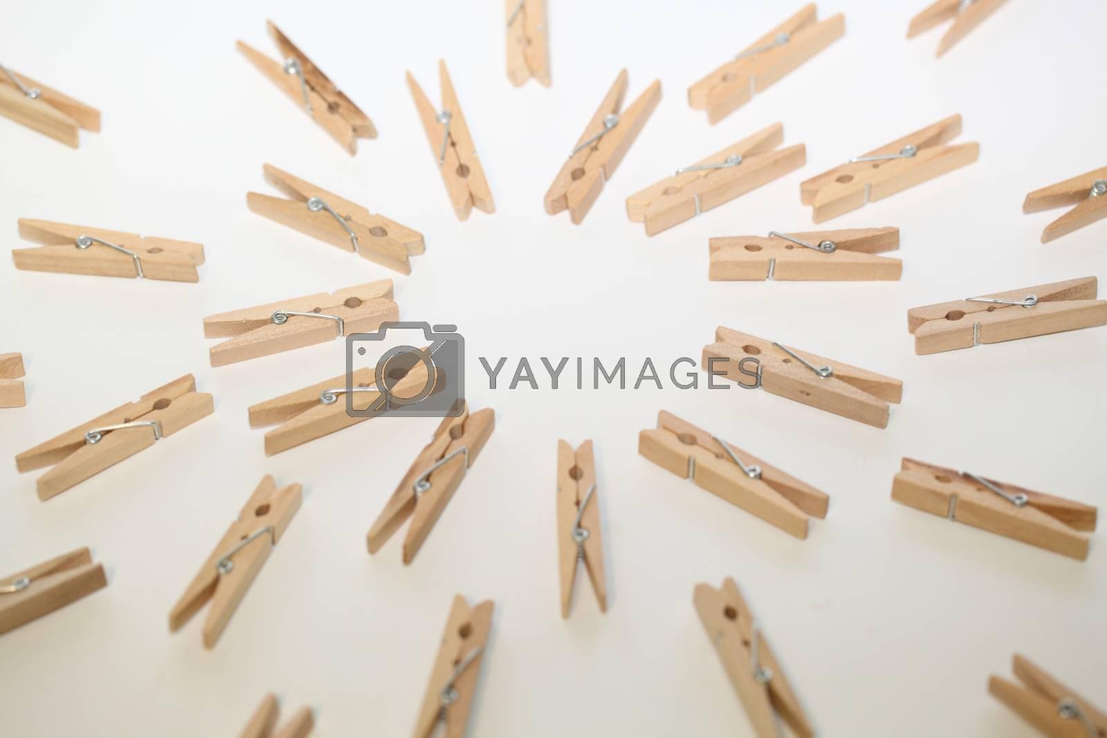 clothespins by sagasan