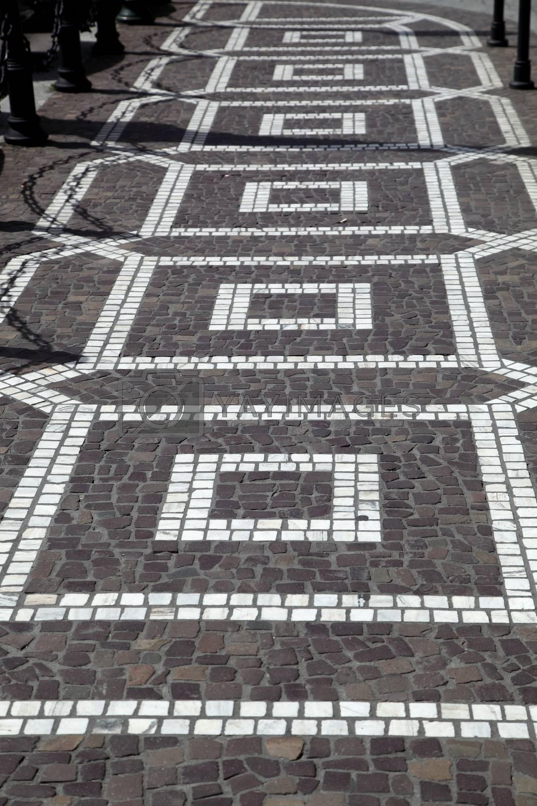 ancient pavement by sagasan