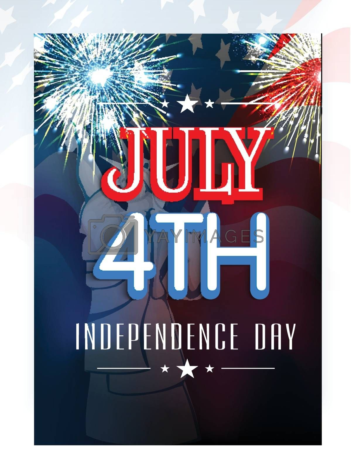 4th of July celebrations Flyer Design. by aispl