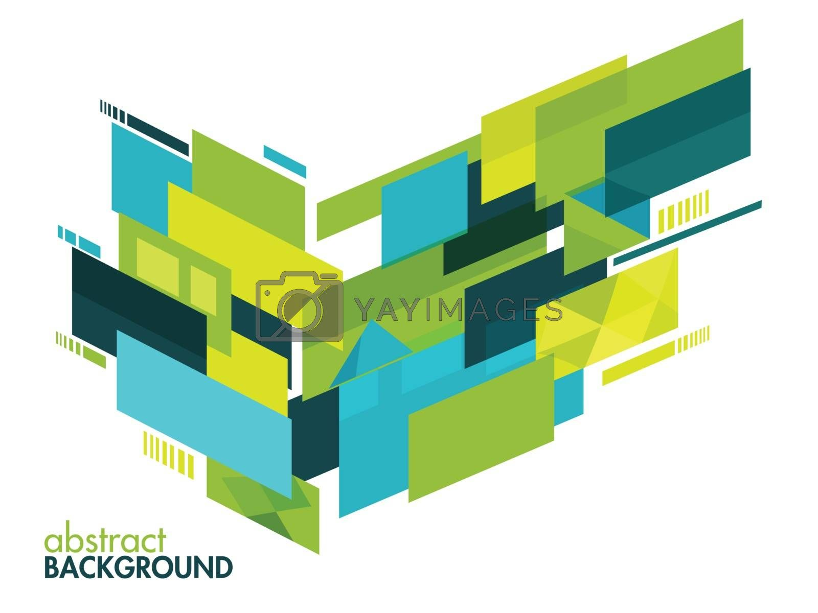 Creative abstract geometric background. by aispl