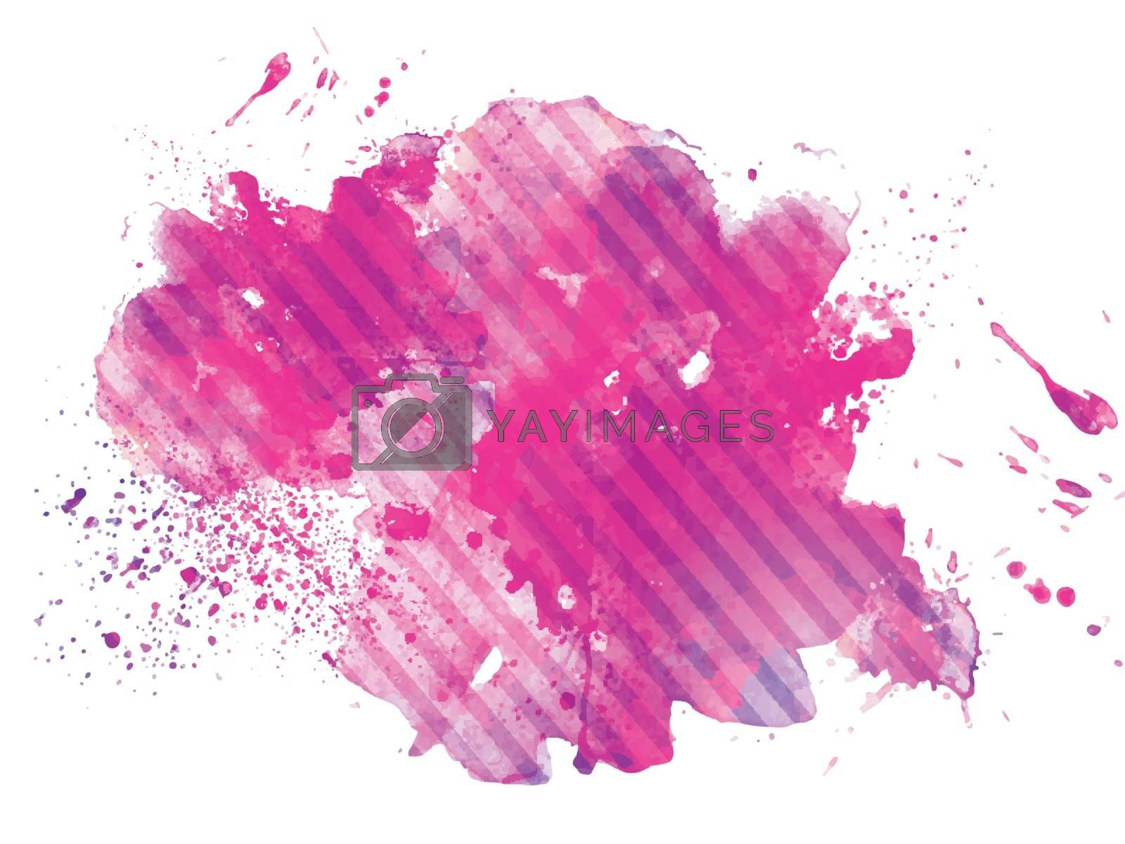Abstract pink color splash background.